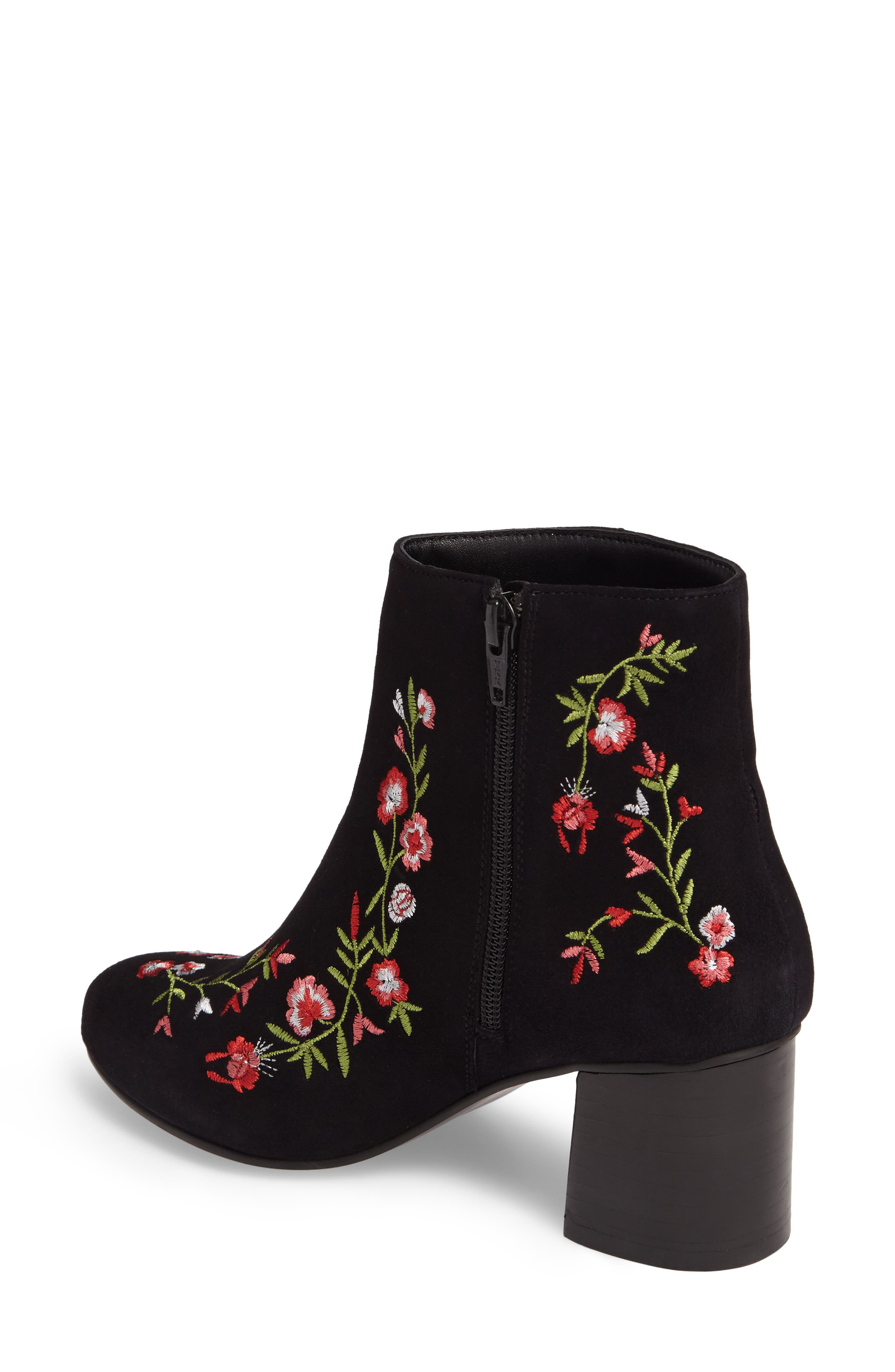 Veronaa Embroidered Bootie,                             Alternate thumbnail 2, color,                             003