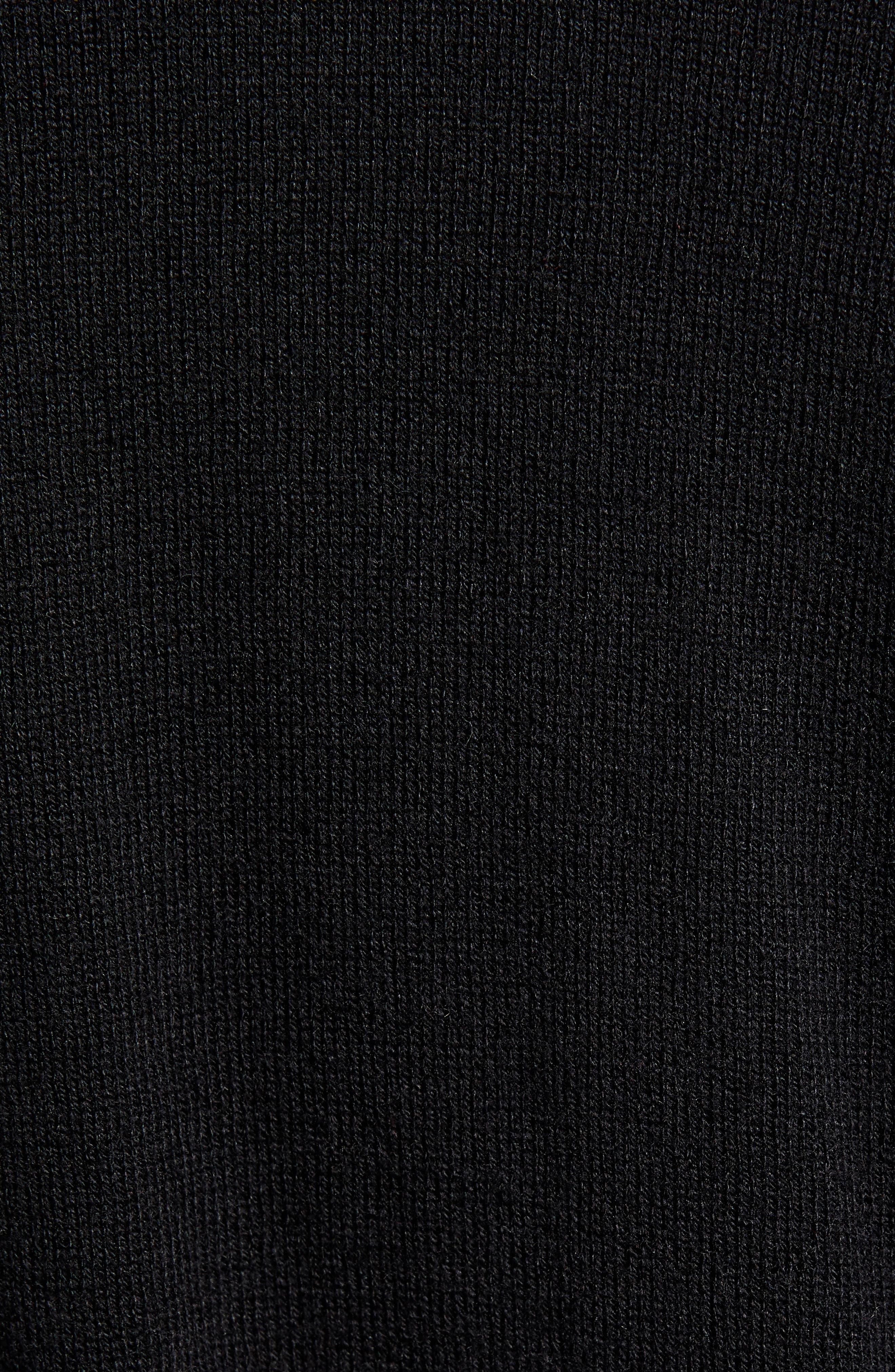 BP.,                             All Day Cardigan,                             Alternate thumbnail 6, color,                             BLACK