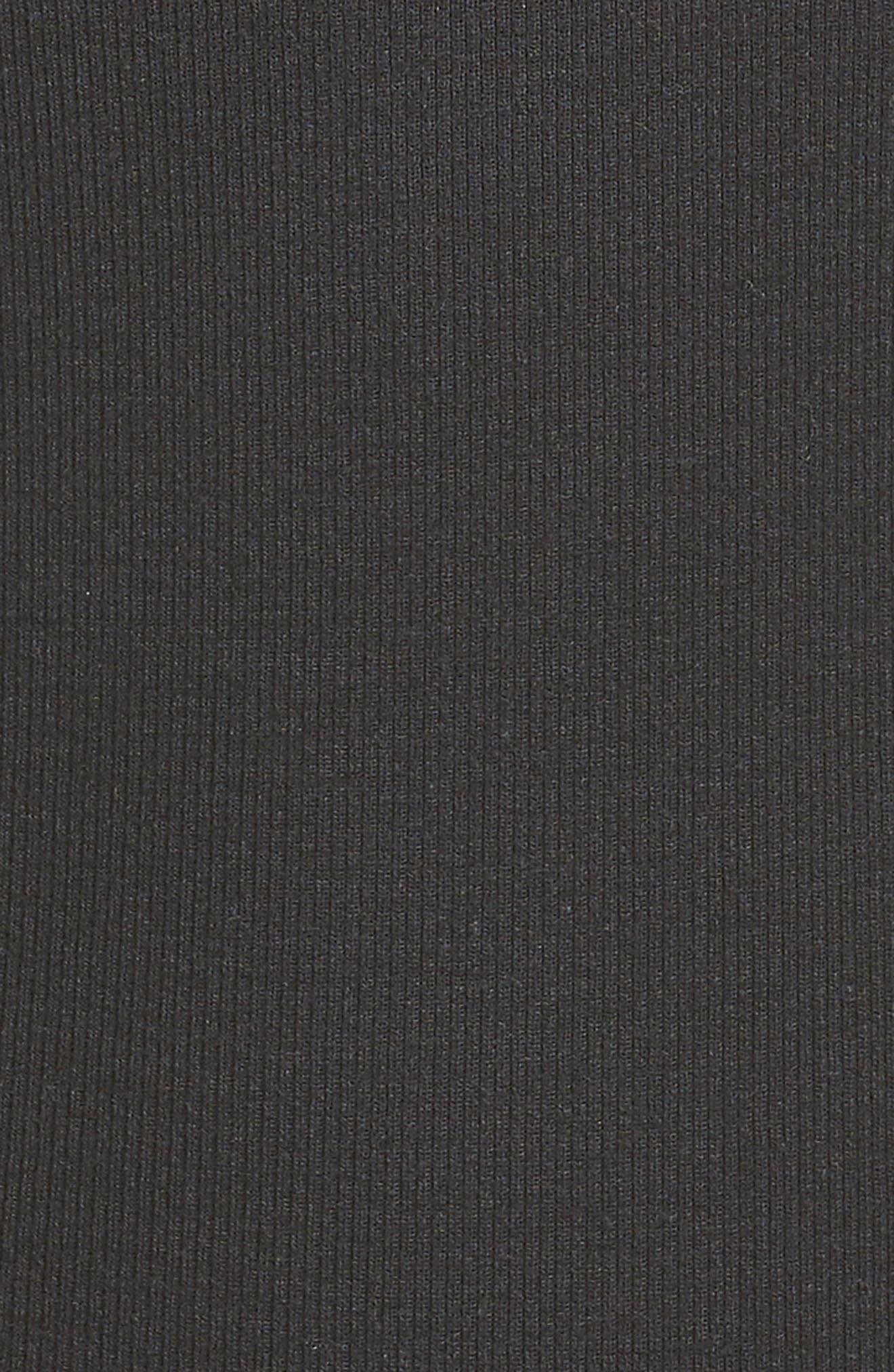 Tank Bodysuit,                             Alternate thumbnail 5, color,                             BLACK