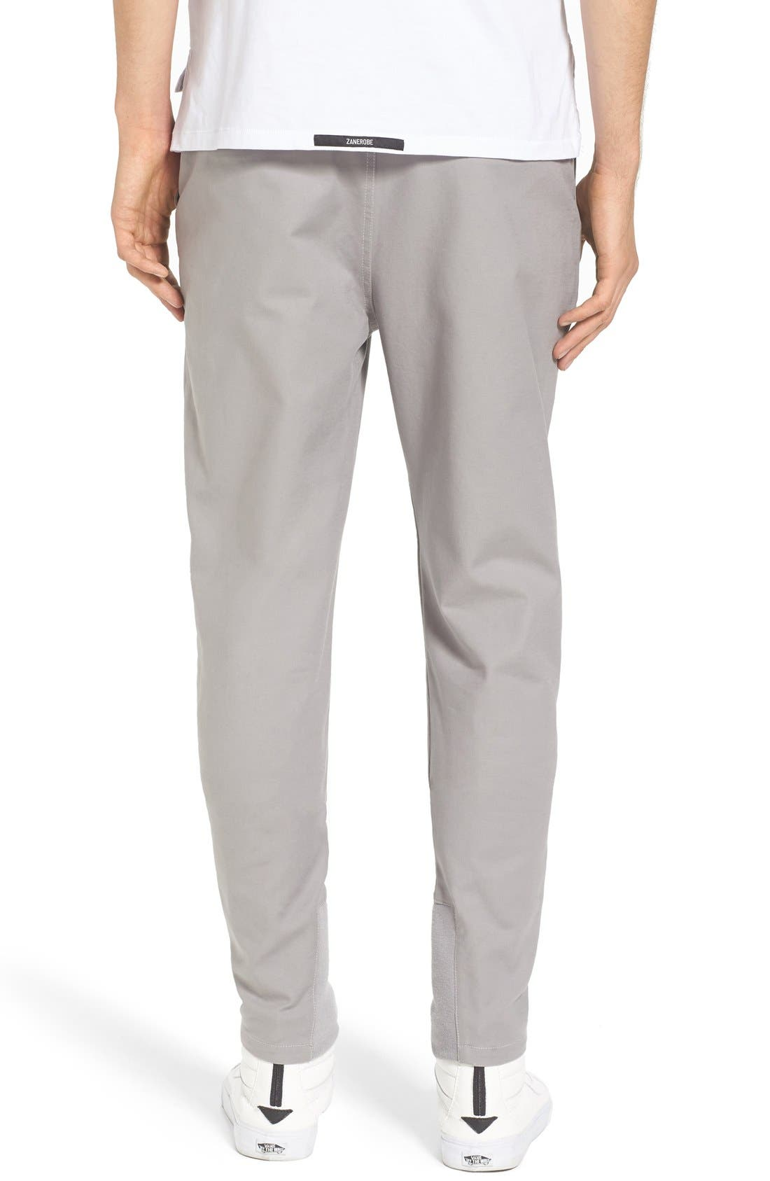 'Sharpshot' Slouchy Skinny Fit Chinos,                             Alternate thumbnail 18, color,