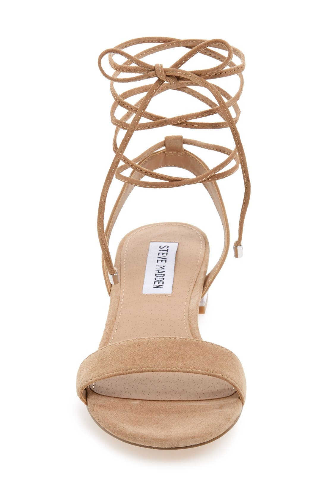 'Carolyn' Lace-Up Sandal,                             Alternate thumbnail 8, color,