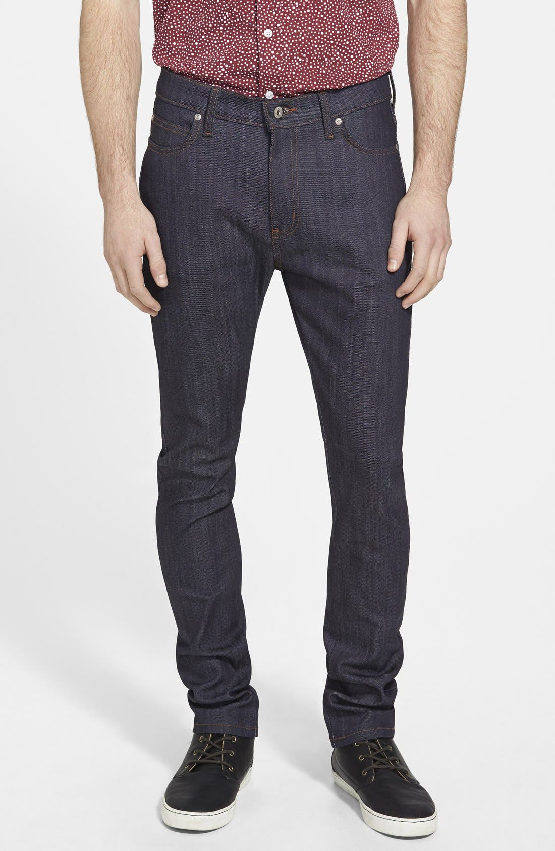 'Stacked Guy' Skinny Fit Jeans, Main, color, 401