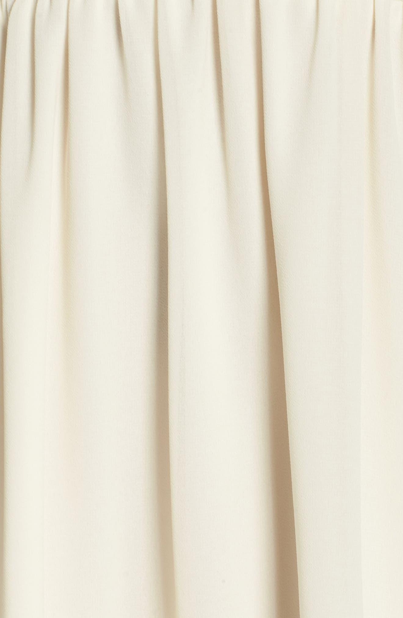 One More Night Beaded Skater Dress,                             Alternate thumbnail 5, color,                             900
