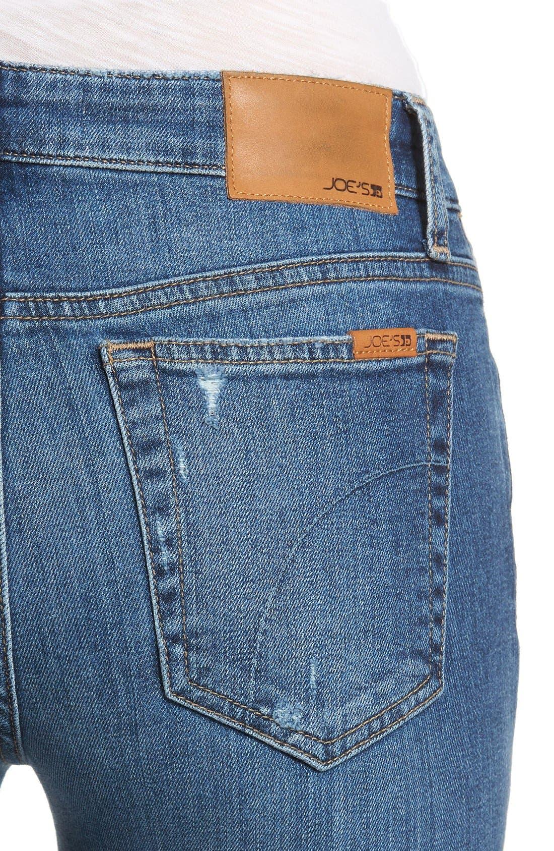 Cigarette Skinny Jeans,                             Alternate thumbnail 2, color,                             410