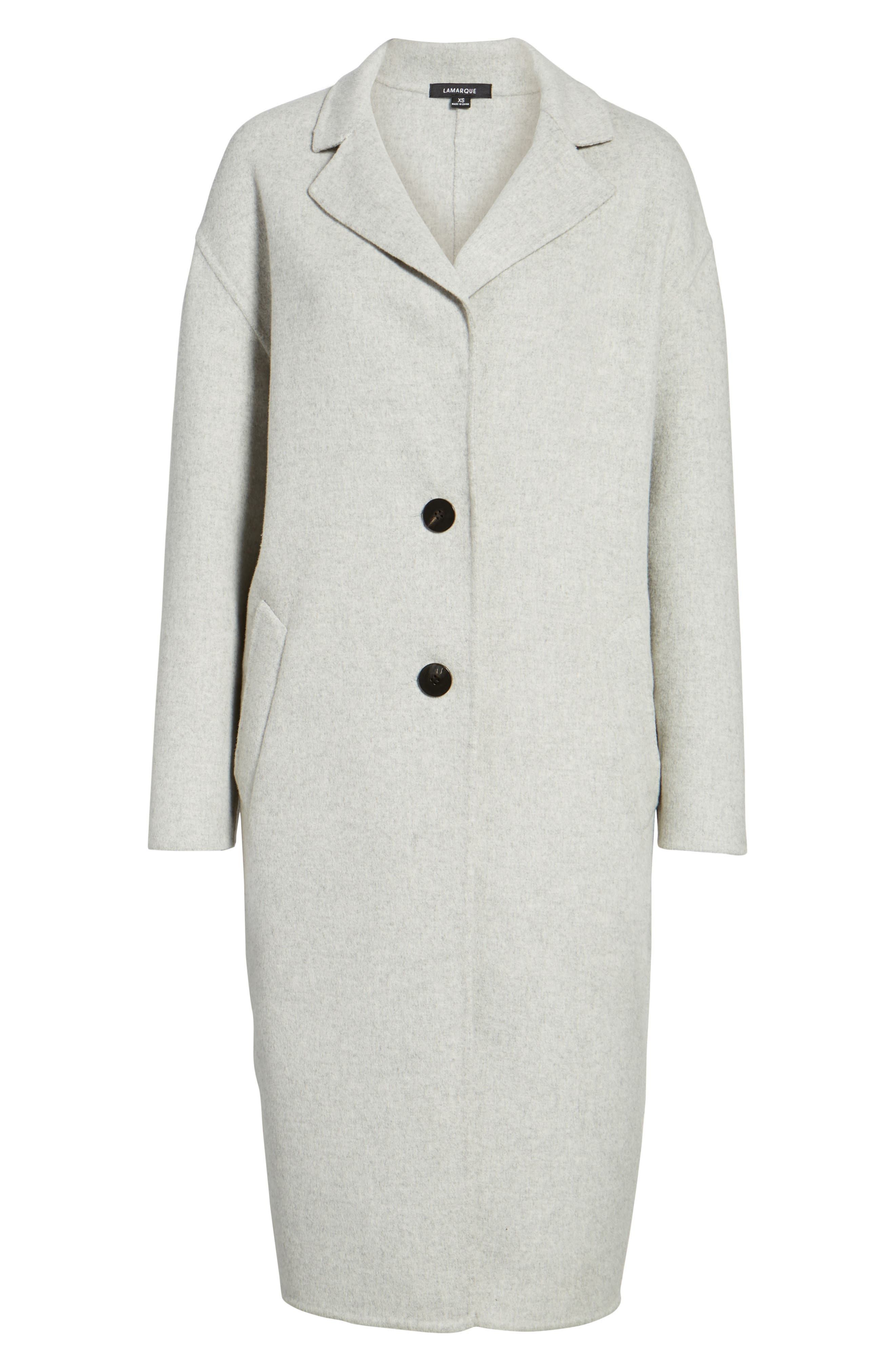 Clean Cocoon Peacoat,                             Alternate thumbnail 5, color,                             050