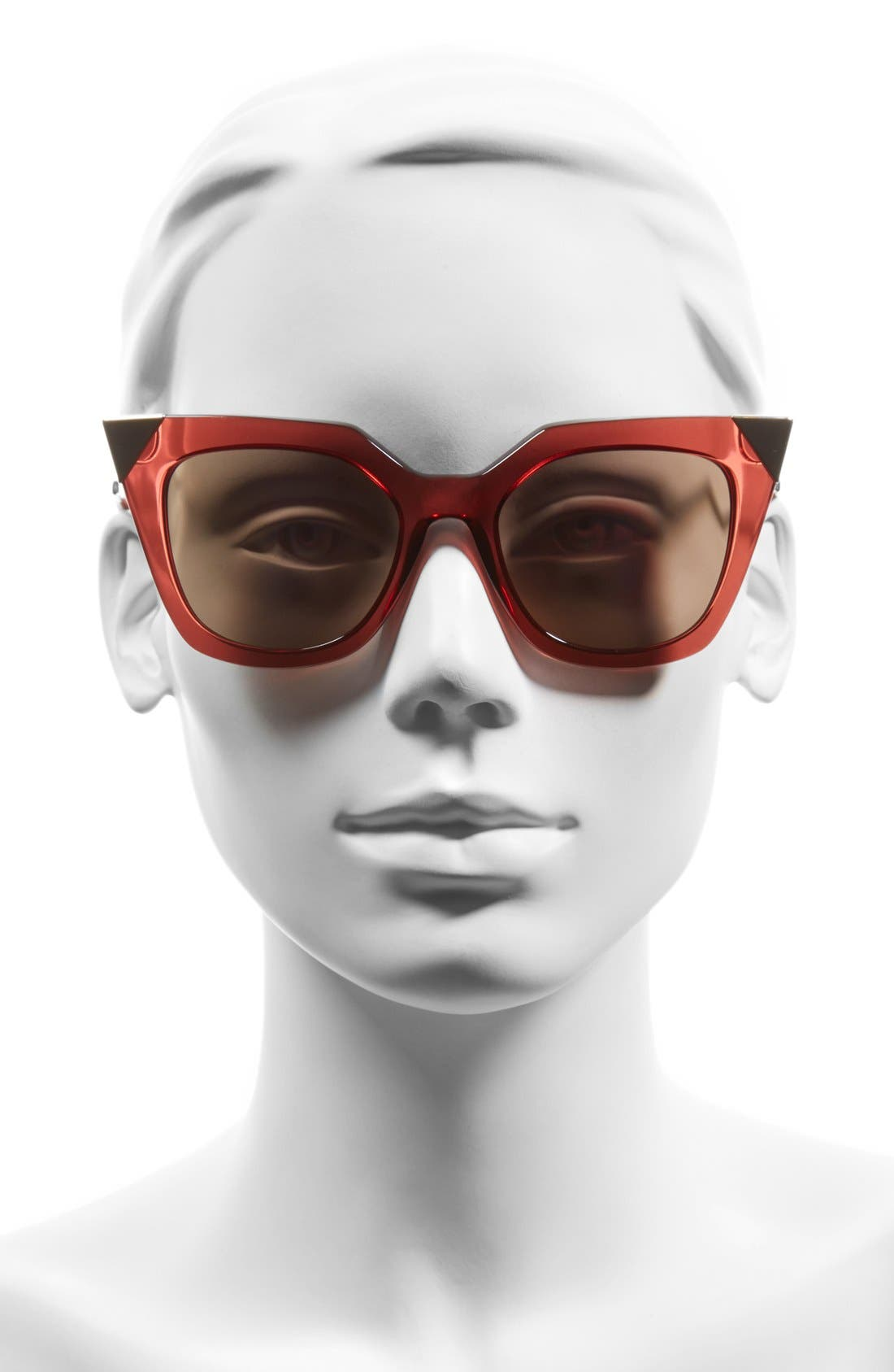 52mm Cat Eye Sunglasses,                             Alternate thumbnail 14, color,
