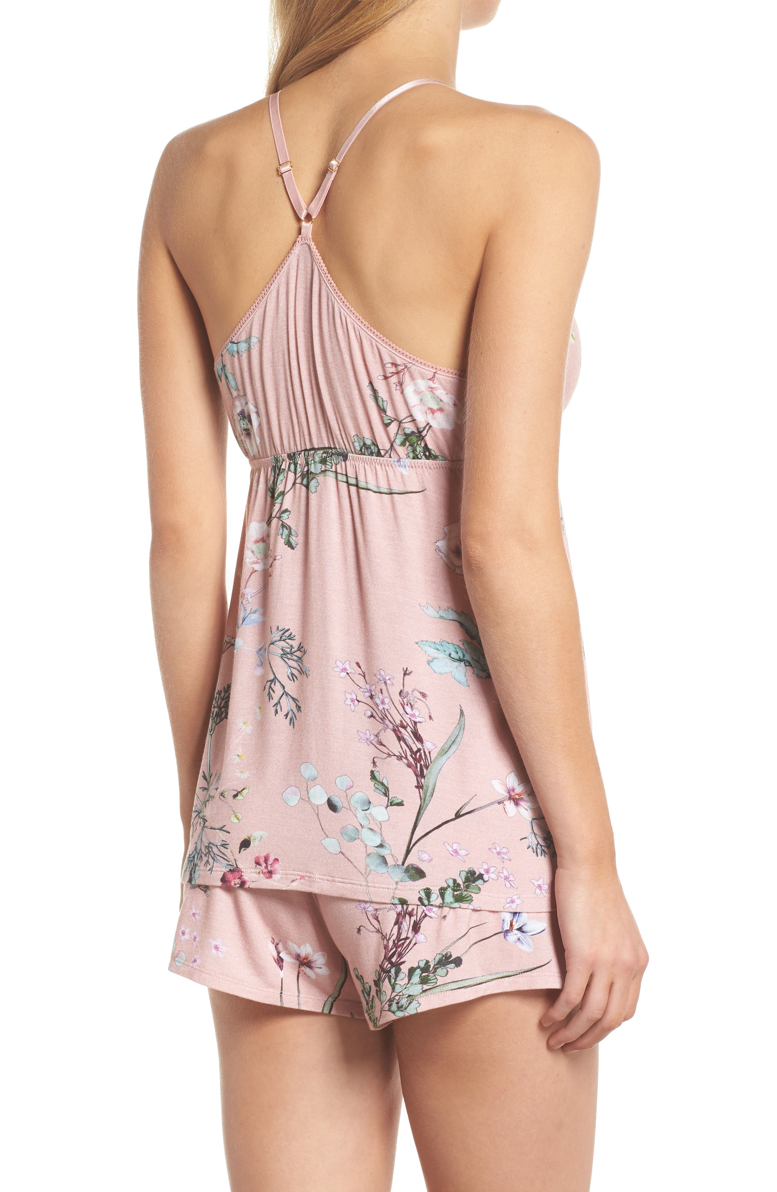 Floral Print Camisole Pajama Set,                             Alternate thumbnail 2, color,                             953