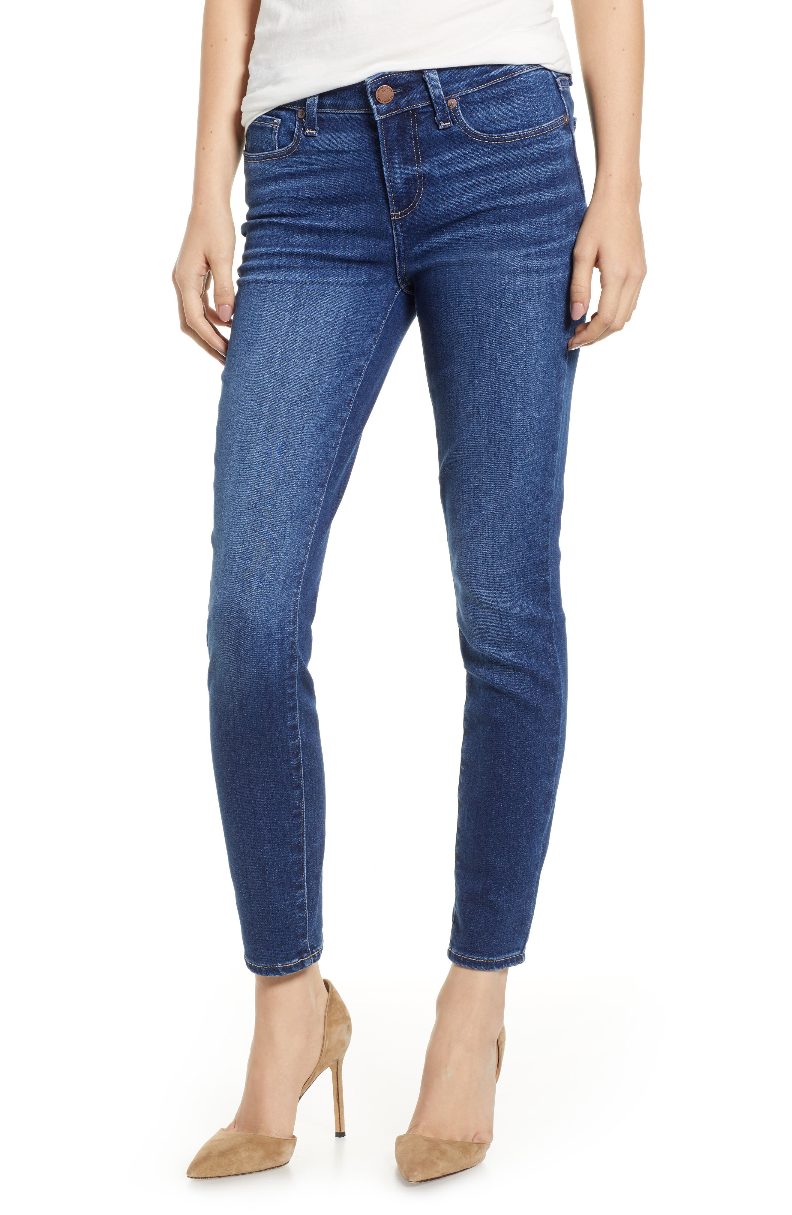 Verdugo Ankle Skinny Jeans,                             Main thumbnail 1, color,                             TOWNSEND