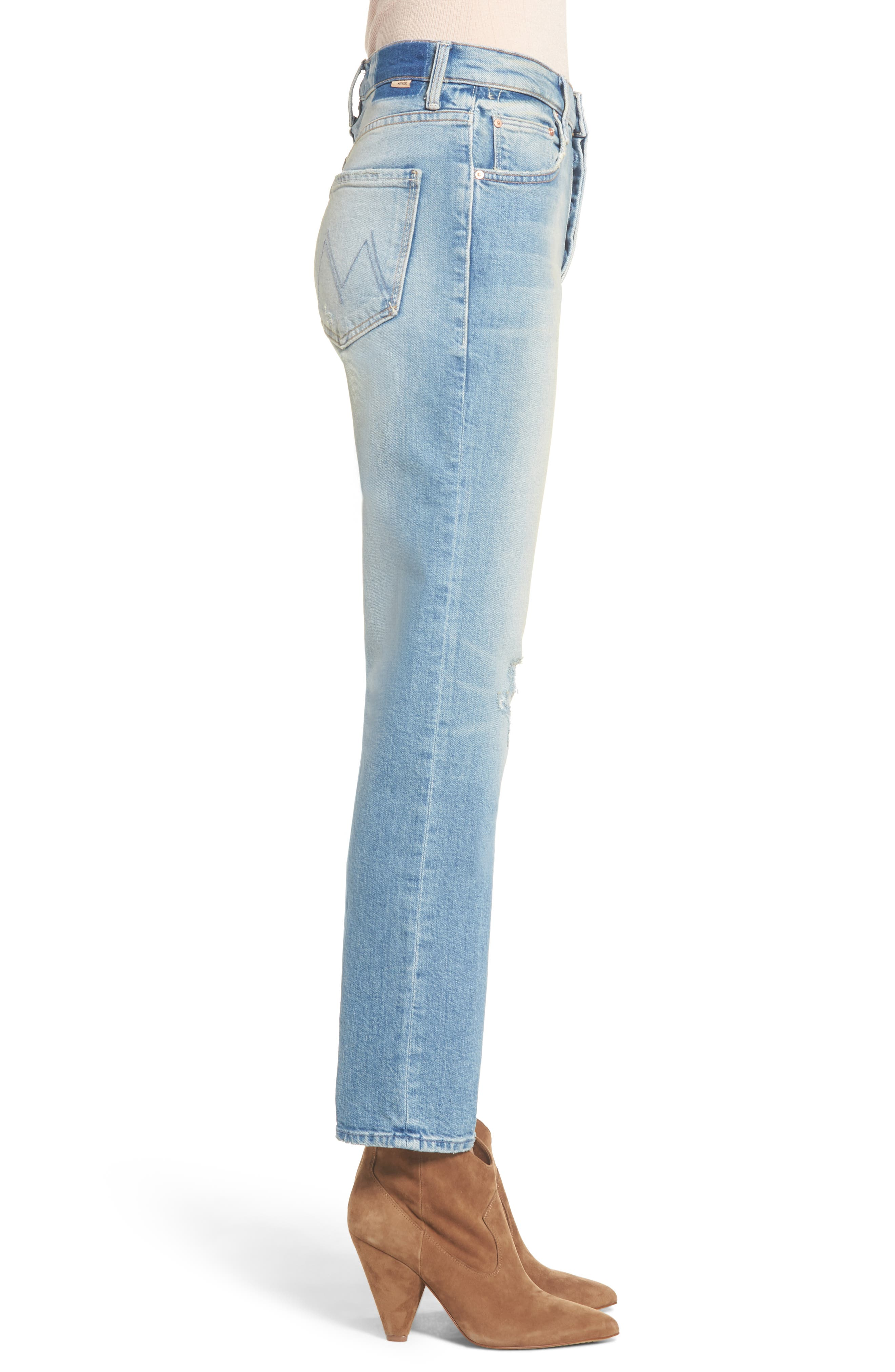 The Tomcat Ankle Straight Leg Jeans,                             Alternate thumbnail 3, color,                             GOSPEL GRACE