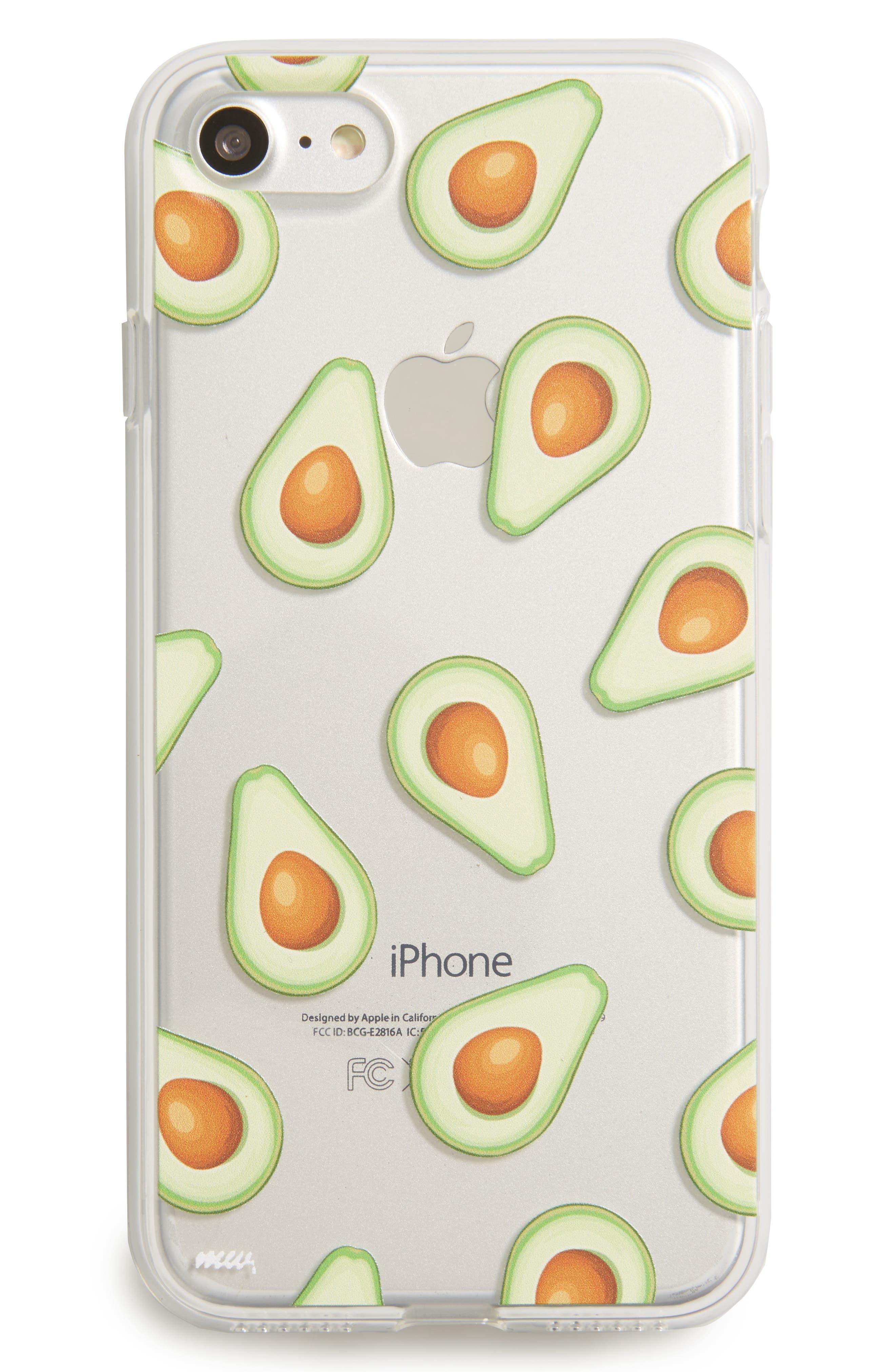 Avocado iPhone 7 Case,                             Main thumbnail 1, color,                             300