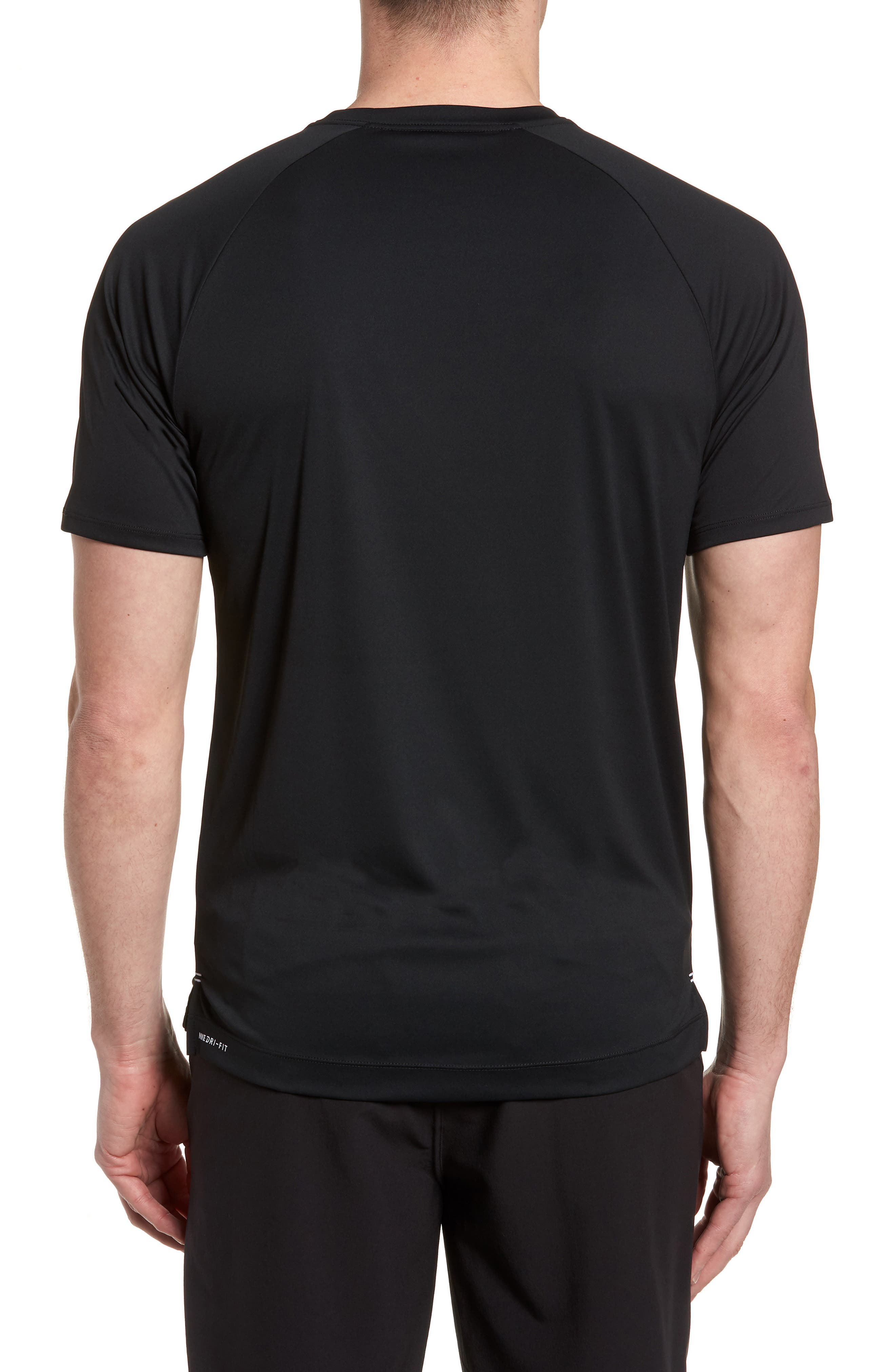 HURLEY,                             Icon Quick-Dry Surf T-Shirt,                             Alternate thumbnail 2, color,                             010