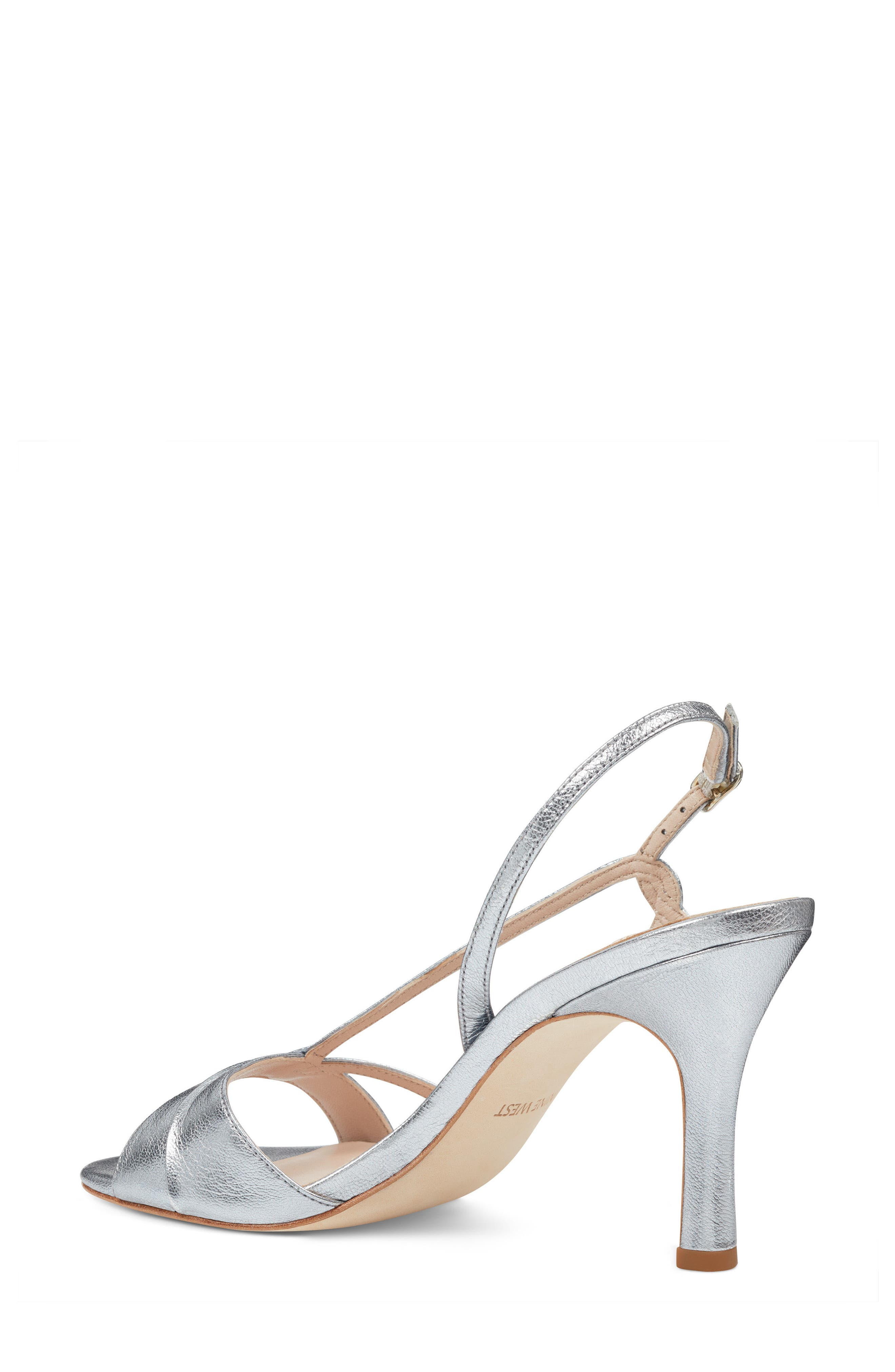 Accolia - 40th Anniversary Capsule Collection Sandal,                             Alternate thumbnail 2, color,                             SILVER LEATHER