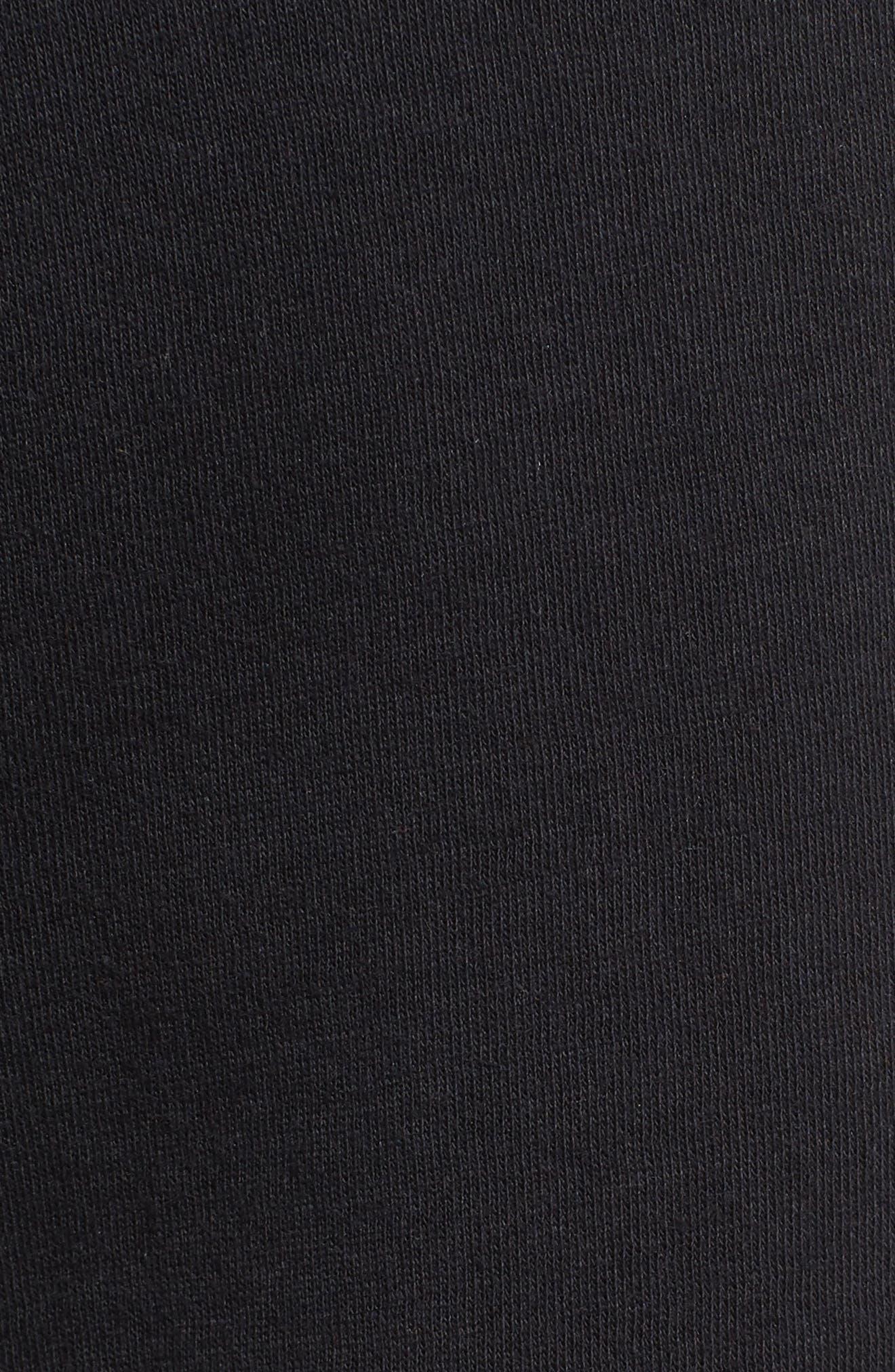 Modern Jogger Pants,                             Alternate thumbnail 5, color,                             BLACK/ BLACK