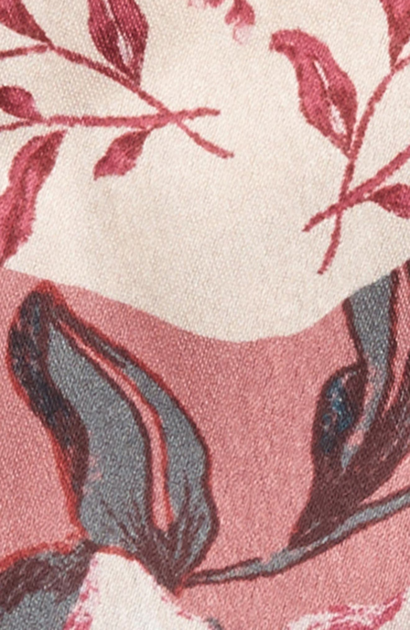 Beaded Double Bow Hair Tie,                             Alternate thumbnail 2, color,