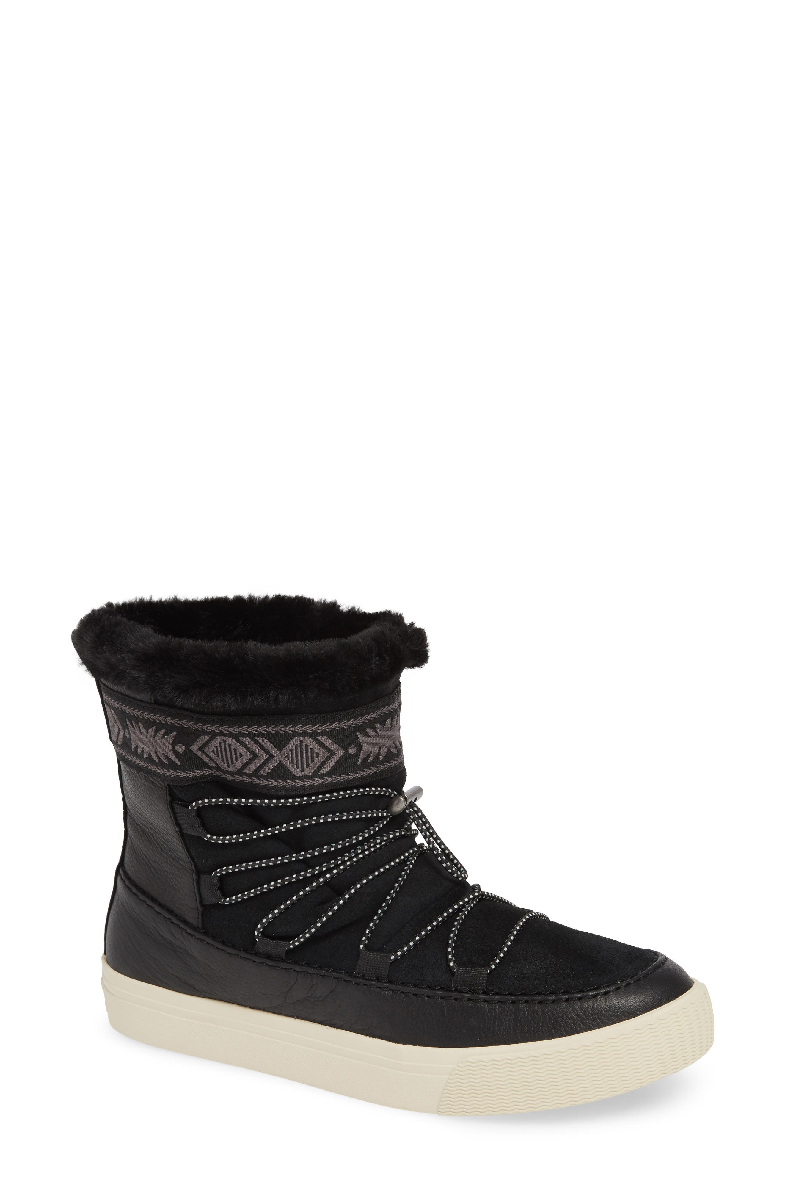 Toms Alpine Boot, Black