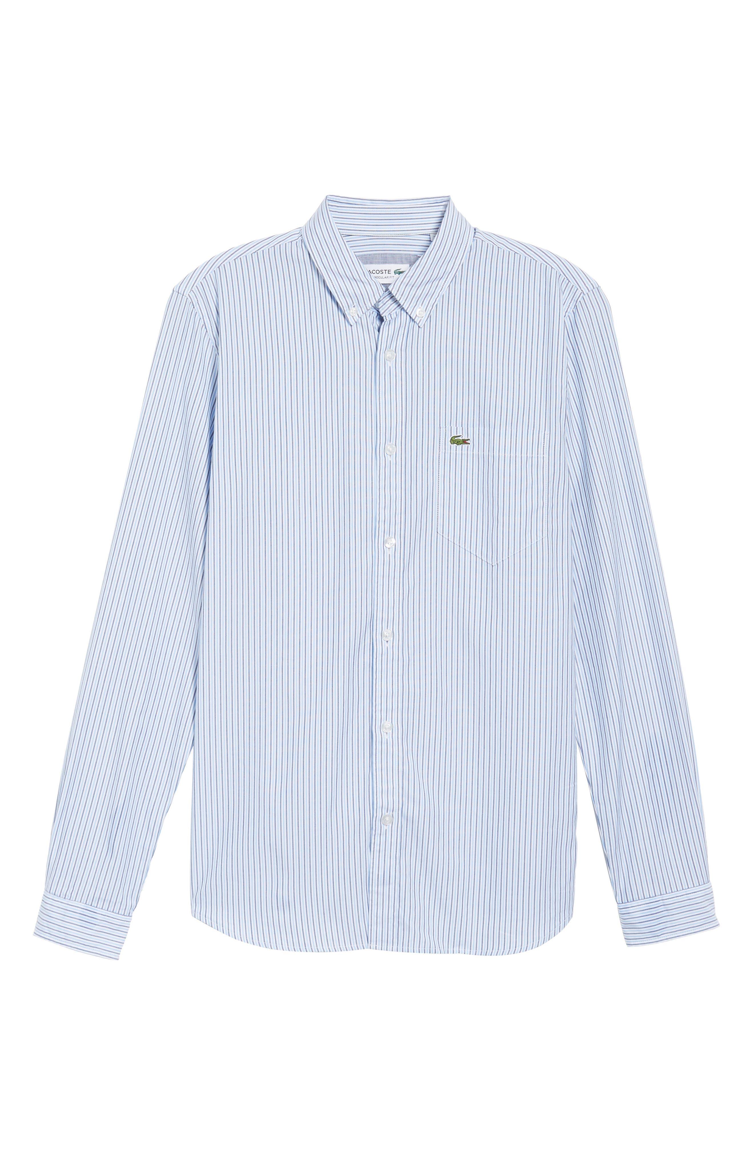 Button-Down Sport Shirt,                             Alternate thumbnail 6, color,                             435