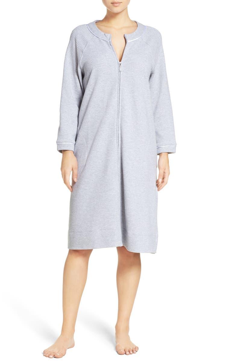 Carole Hochman Designs Zip Front Waffle Knit Robe  c00894d75
