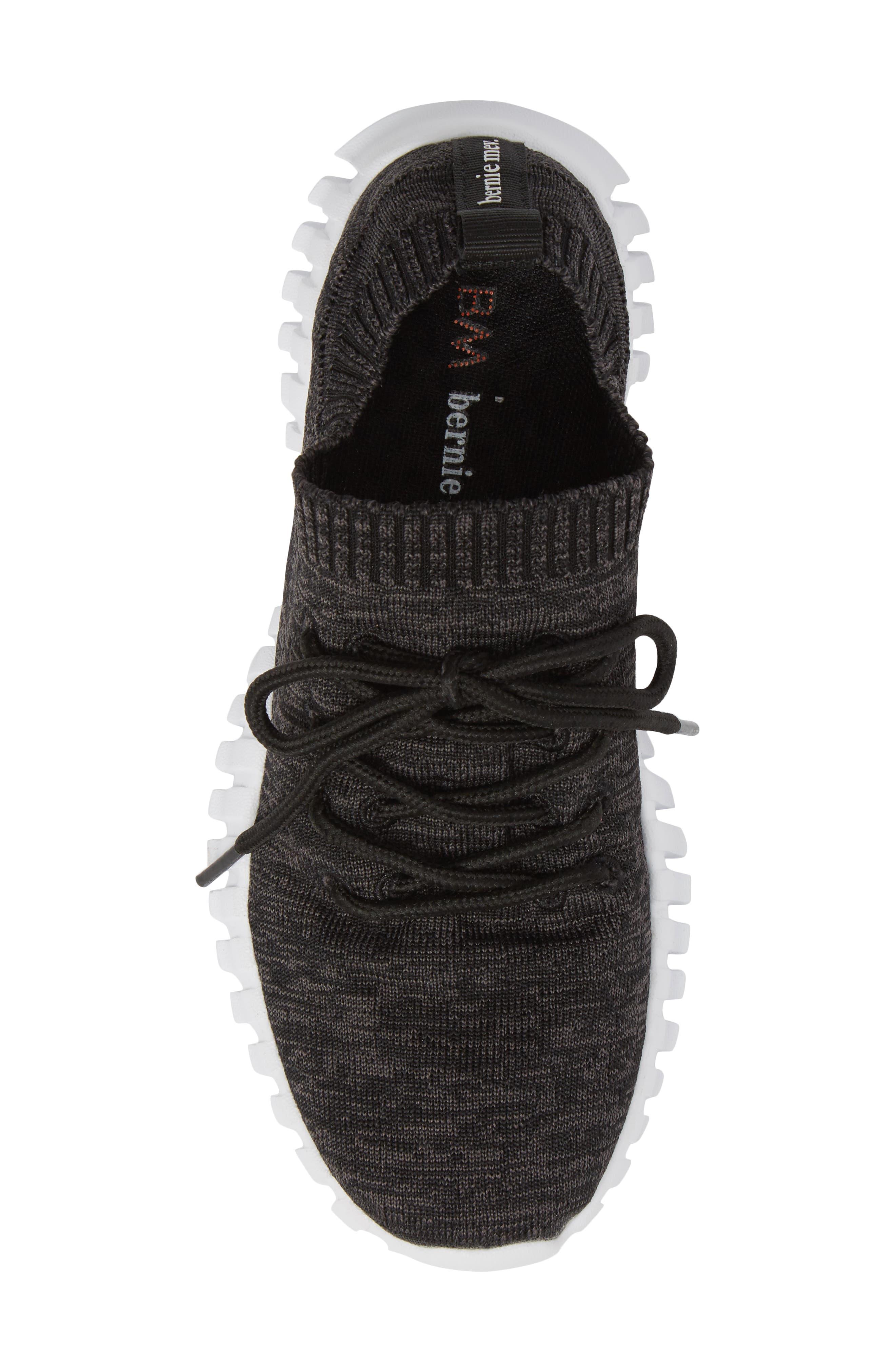 Gravity Sneaker,                             Alternate thumbnail 5, color,                             BLACK GREY