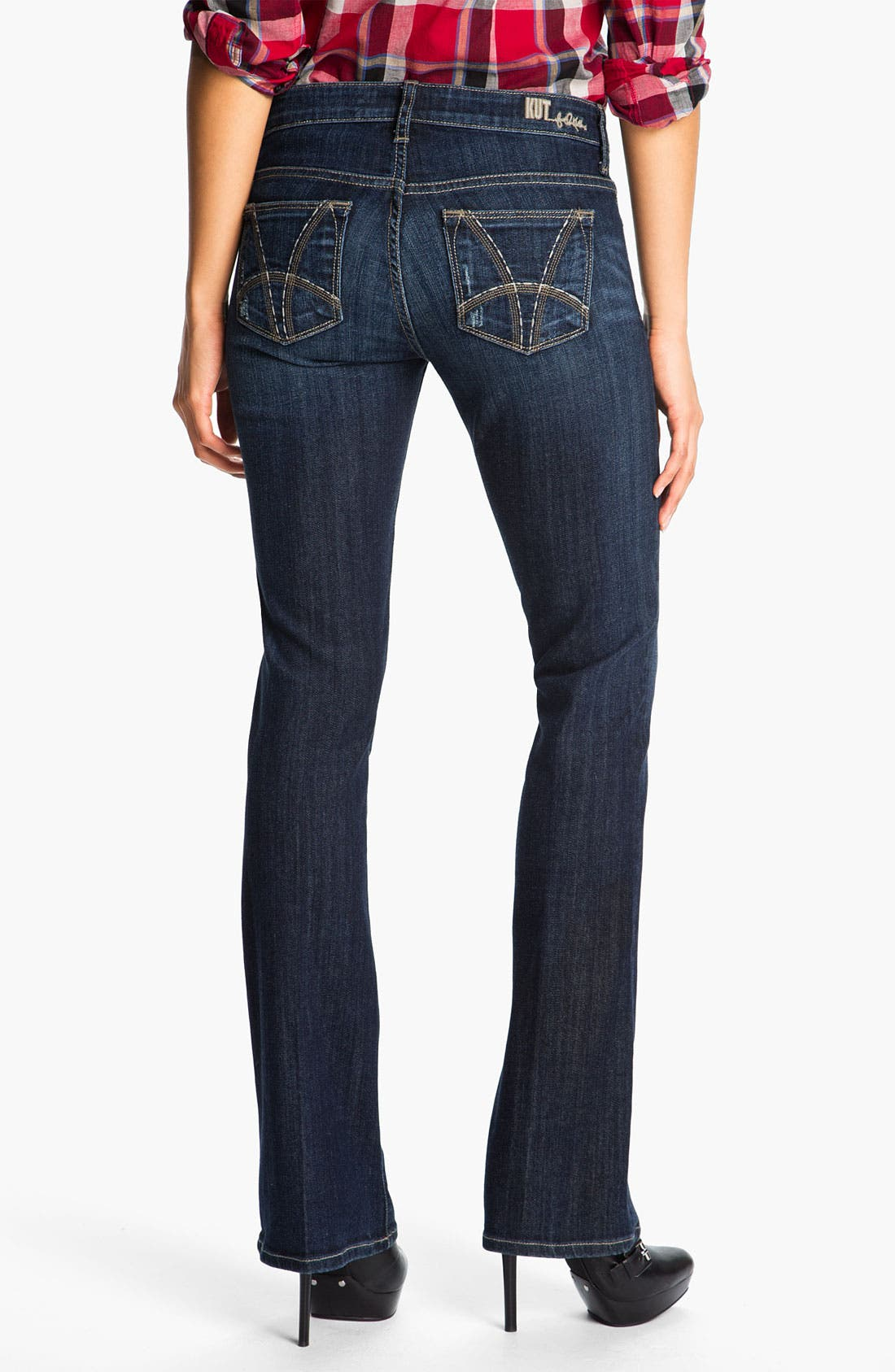 Baby Bootcut Jeans,                             Alternate thumbnail 3, color,                             400