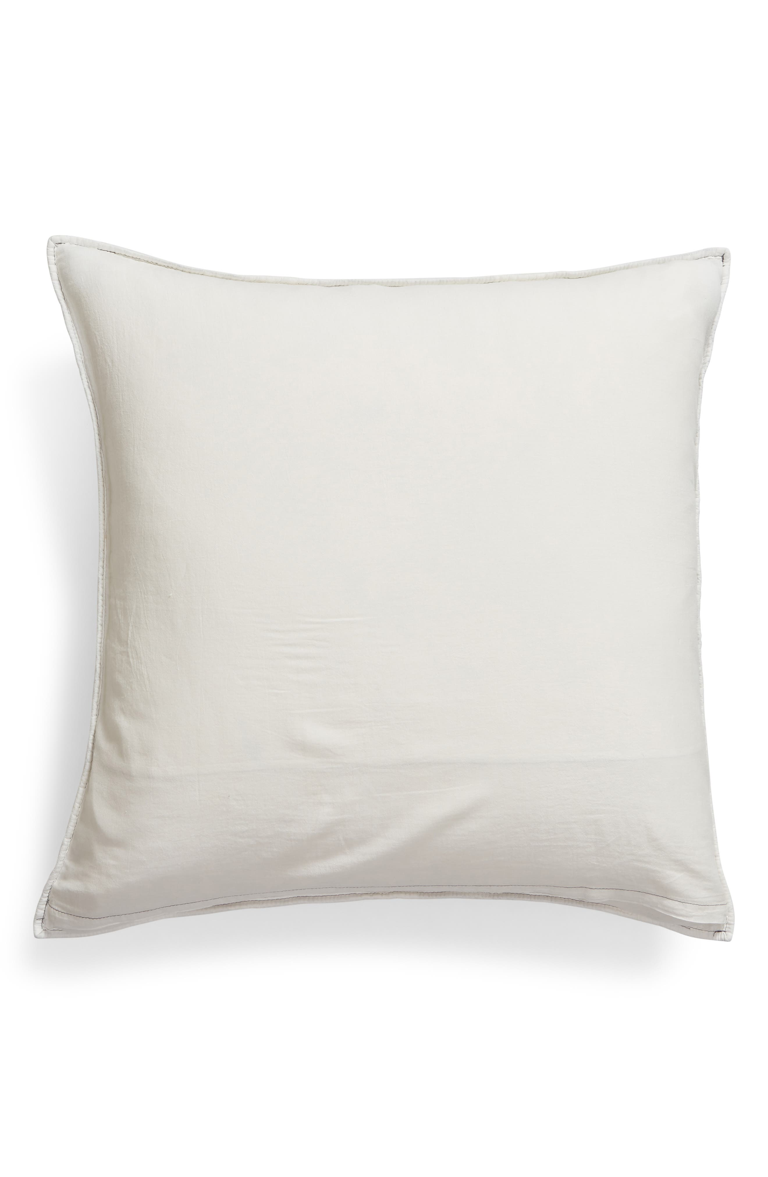 NORDSTROM AT HOME,                             Ria Embroidered Sham,                             Alternate thumbnail 2, color,                             IVORY