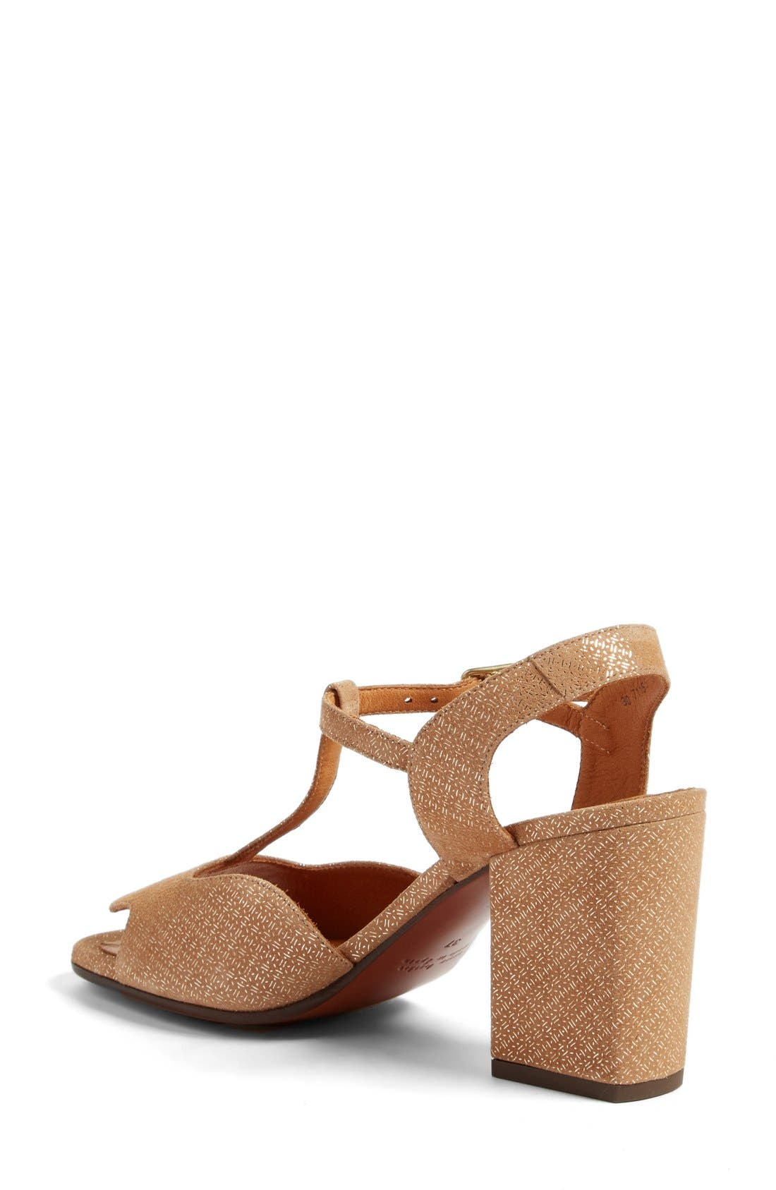 Birthe T-Strap Sandal,                             Alternate thumbnail 2, color,