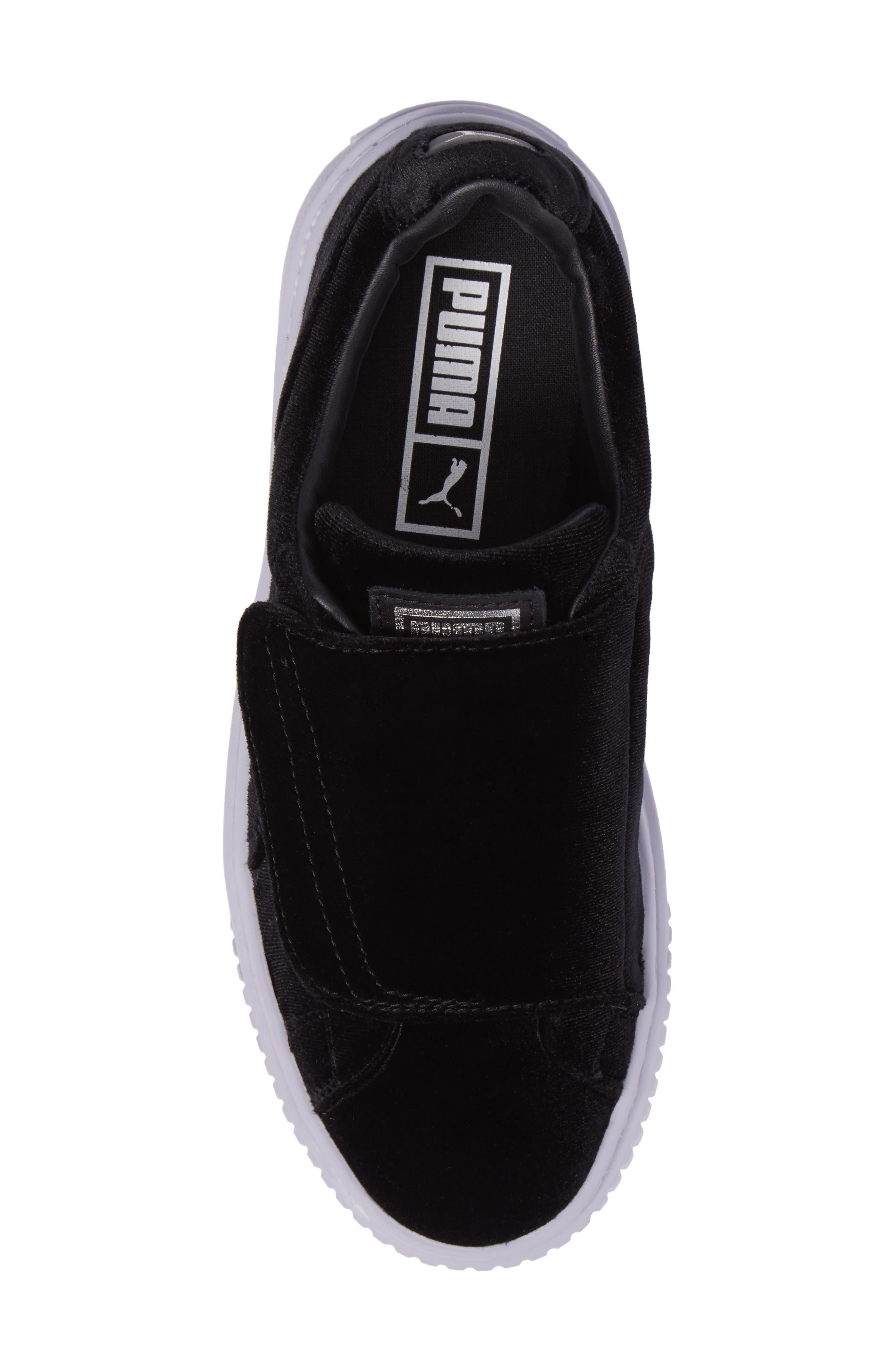 Basket Platform Sneaker,                             Alternate thumbnail 5, color,                             002