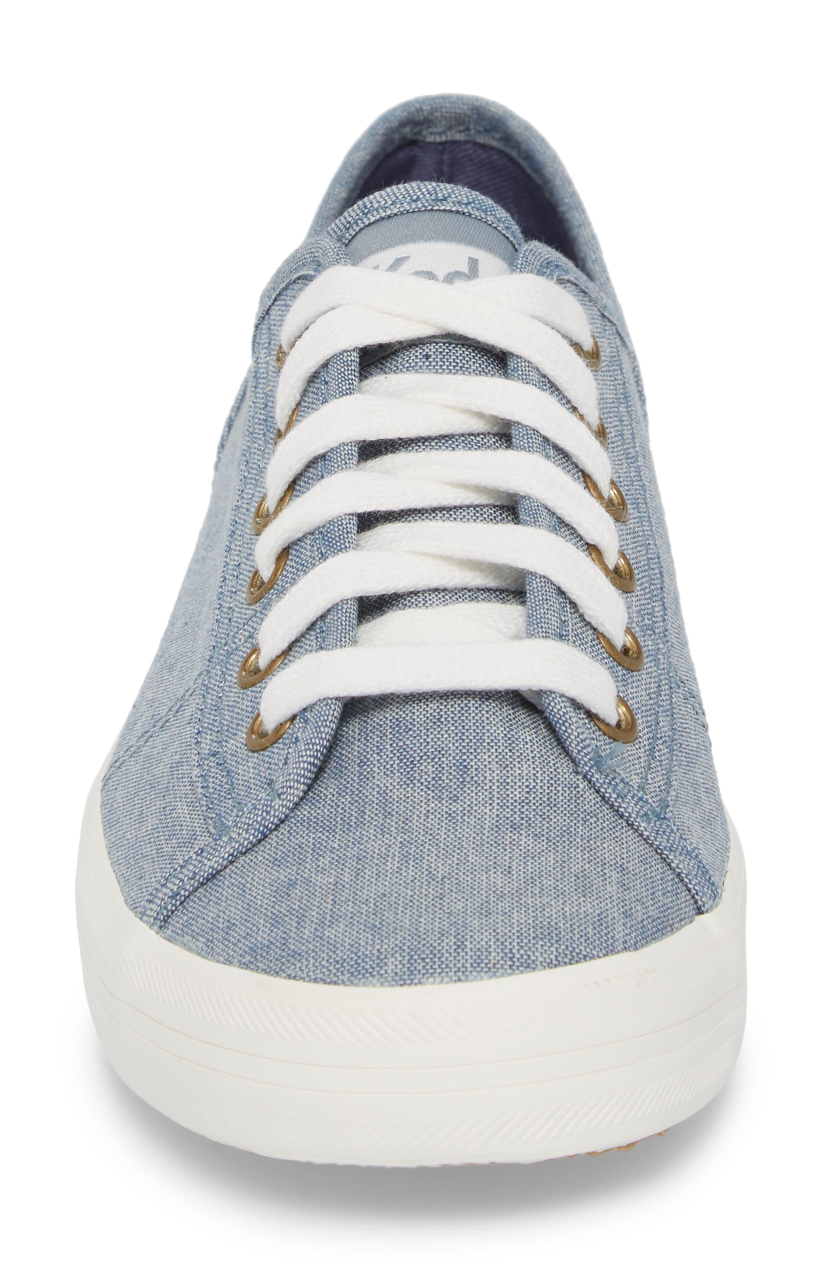 Kickstart Seasonal Solid Sneaker,                             Alternate thumbnail 4, color,                             400