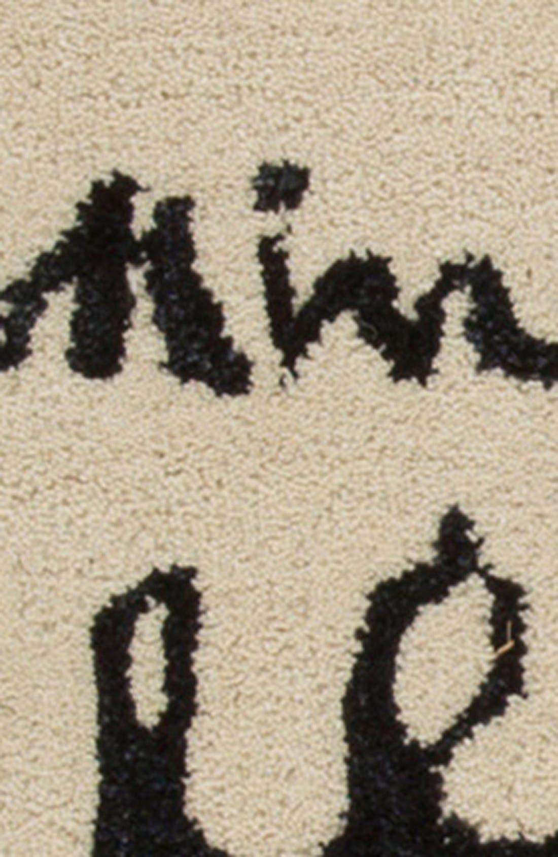 'gramercy' wool & silk area rug,                             Alternate thumbnail 4, color,                             900