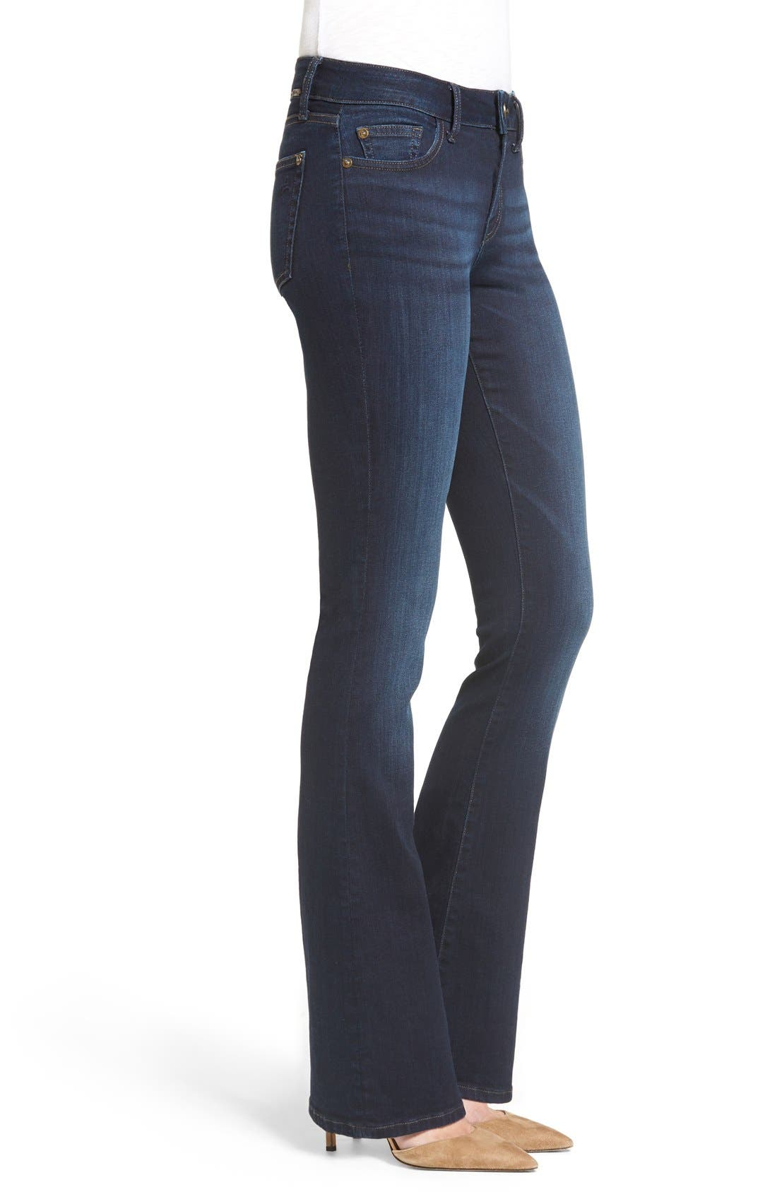 'Bridget 33' Bootcut Jeans,                             Alternate thumbnail 4, color,                             PEAK