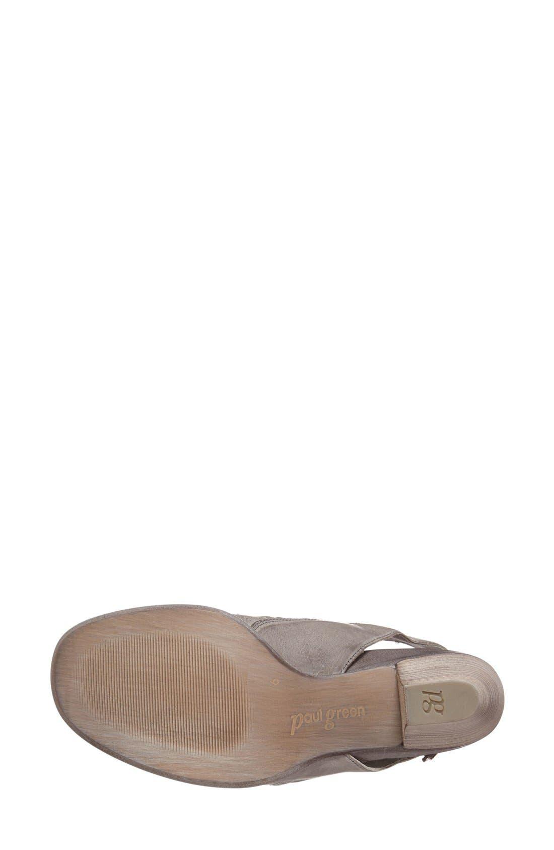 'Cayanne' Leather Peep Toe Sandal,                             Alternate thumbnail 25, color,