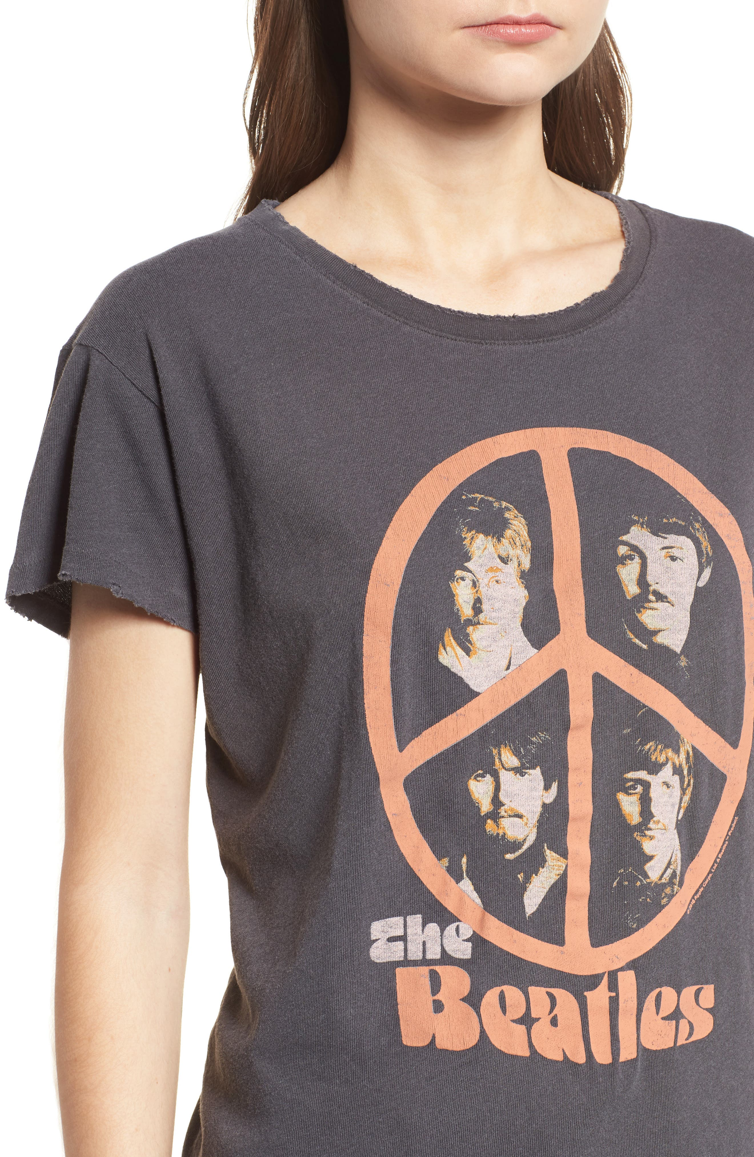 The Beatles Tee,                             Alternate thumbnail 4, color,                             005