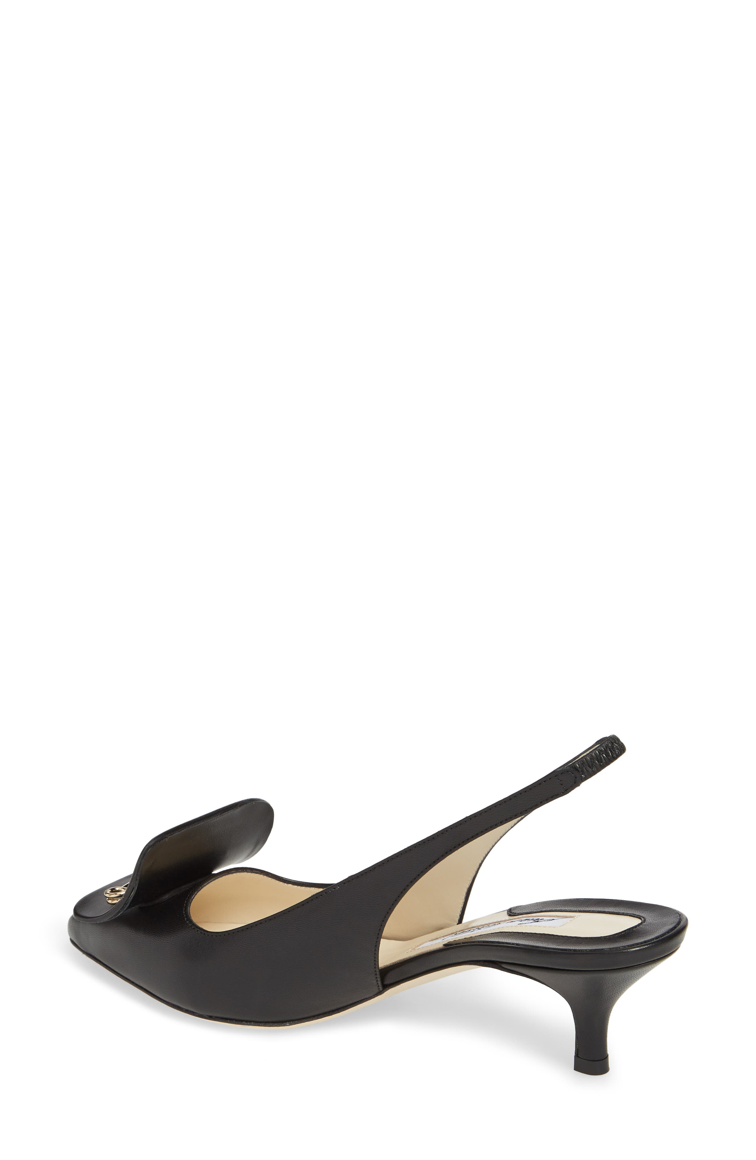 Guiliaa Slingback Pump,                             Alternate thumbnail 2, color,                             BLACK NAPPA