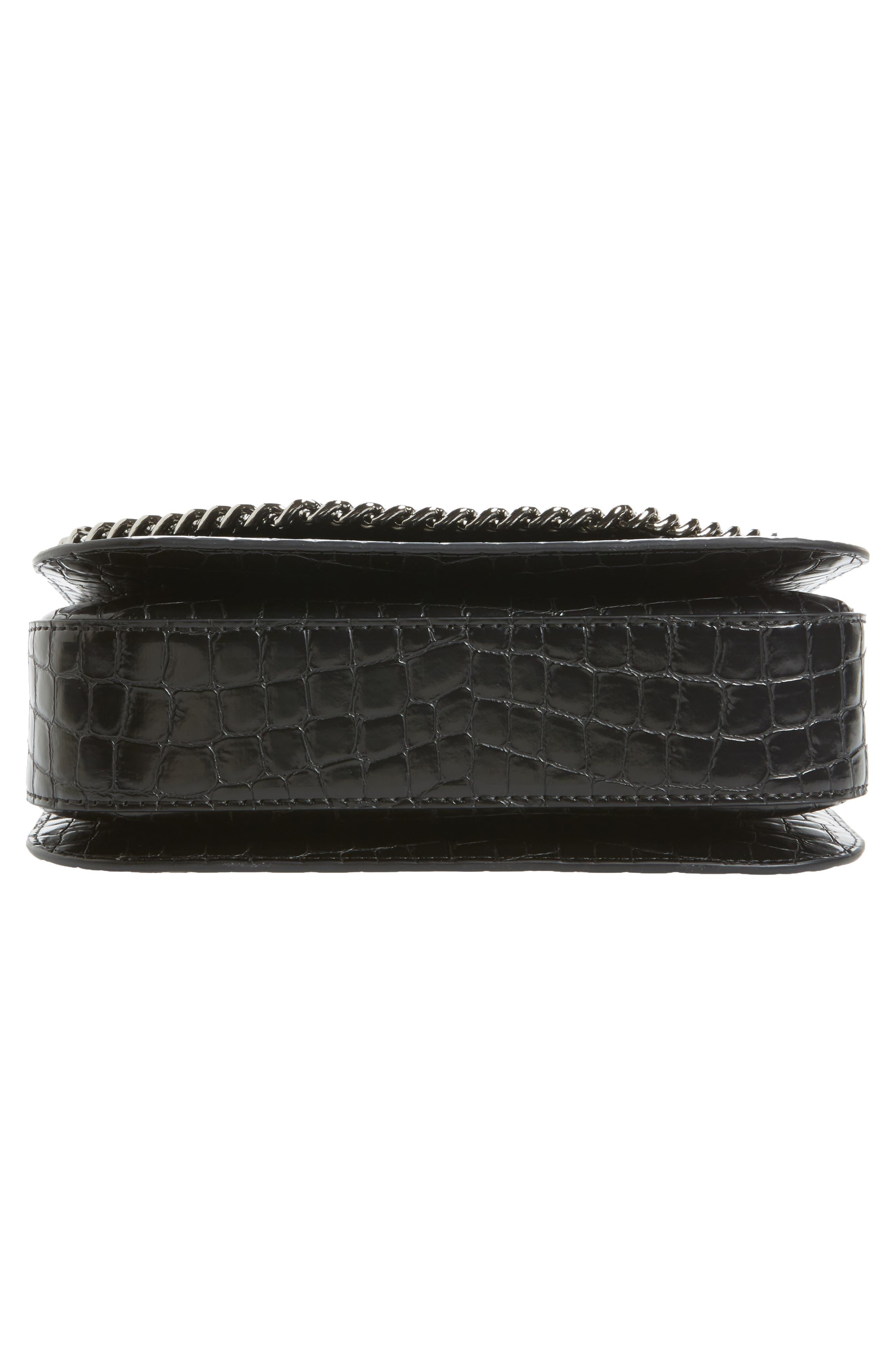 Falabella Box Faux Leather Shoulder Bag,                             Alternate thumbnail 11, color,