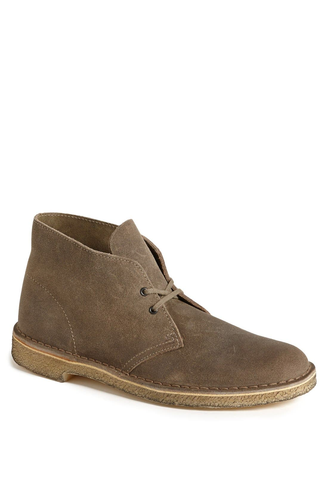 'Desert' Boot,                             Main thumbnail 1, color,                             TAUPE DISTRESSED SUEDE