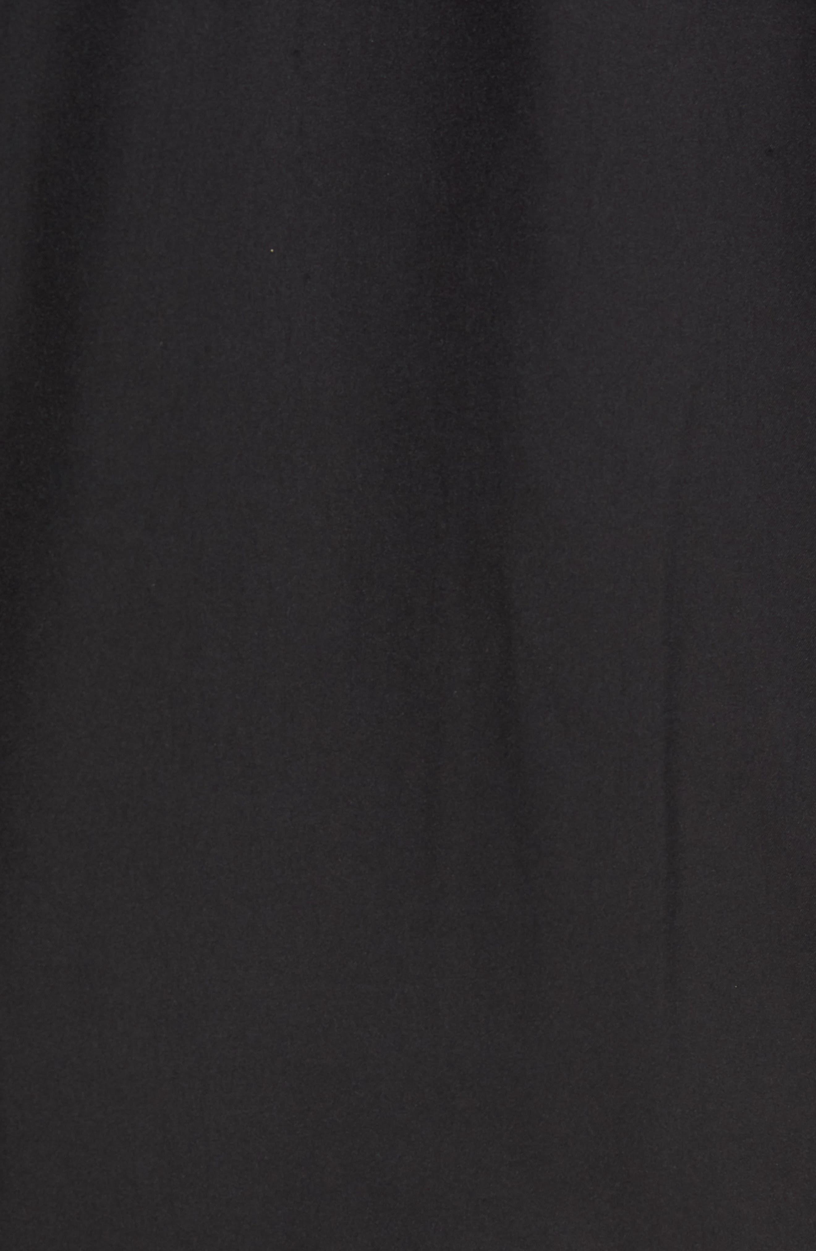 Nine Iron DryTec Zip Vest,                             Alternate thumbnail 6, color,                             BLACK