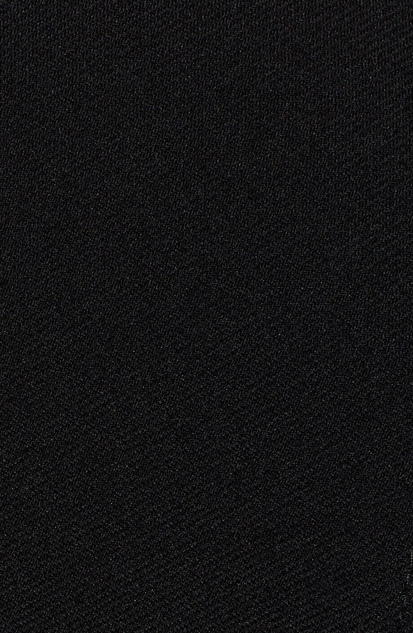 Jazulara Twill Jersey Suit Jacket,                             Alternate thumbnail 6, color,                             001