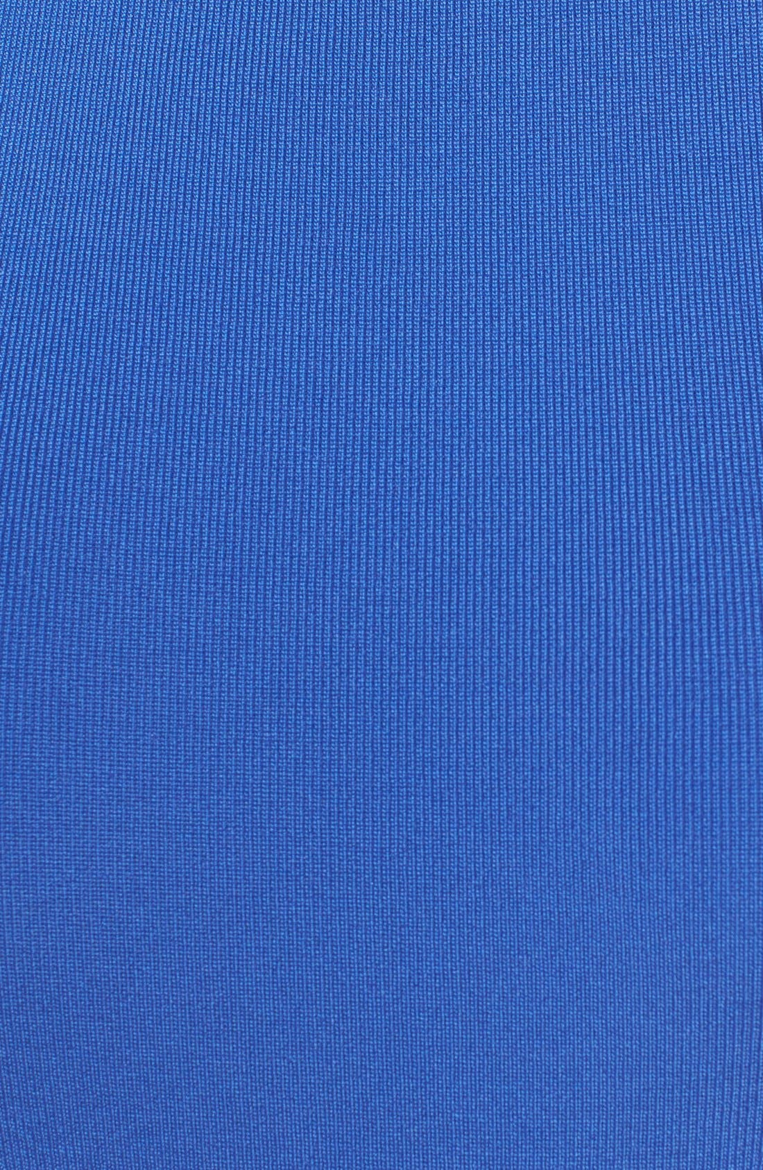 Sleeveless Mock Neck Knit Dress,                             Alternate thumbnail 32, color,