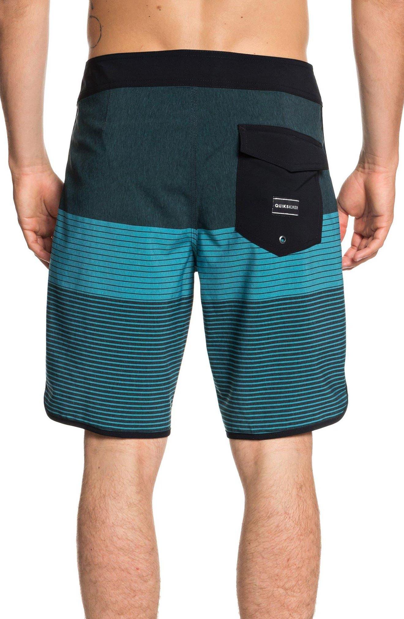 Highline Tijuana Scallop Board Shorts,                             Alternate thumbnail 2, color,                             TYPHOON