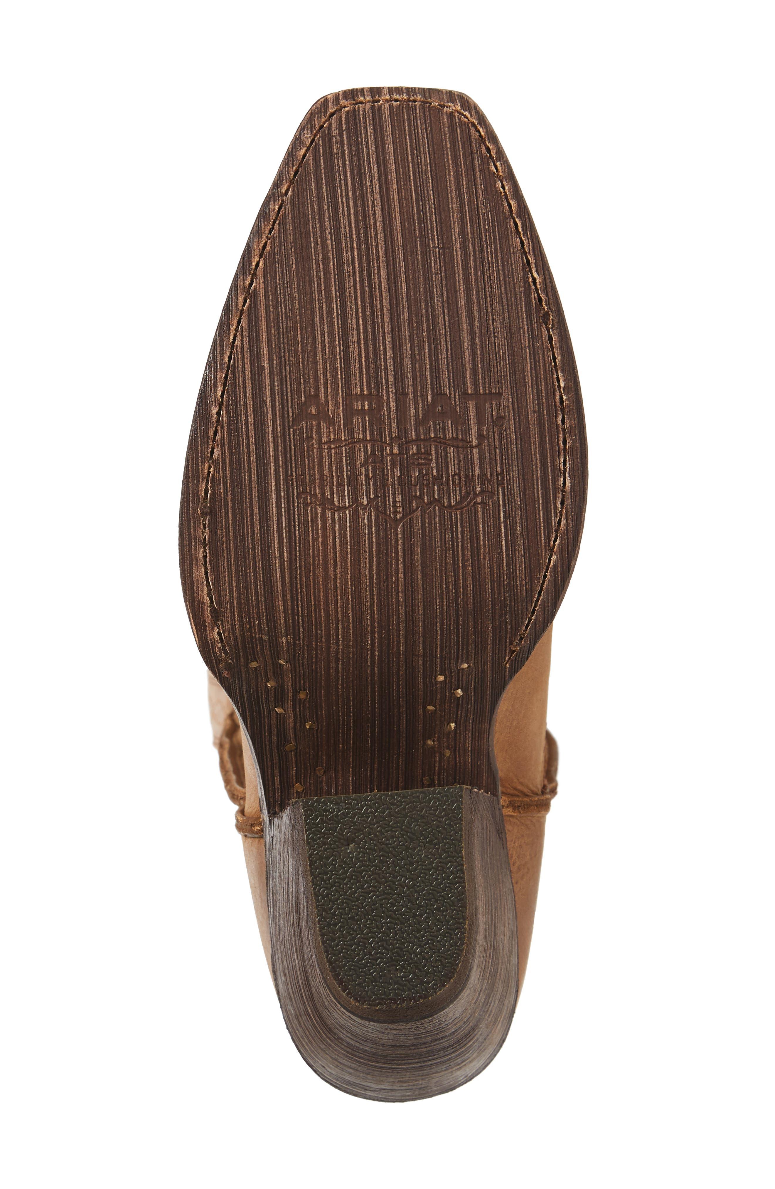 Rowan Stovepipe Western Boot,                             Alternate thumbnail 6, color,