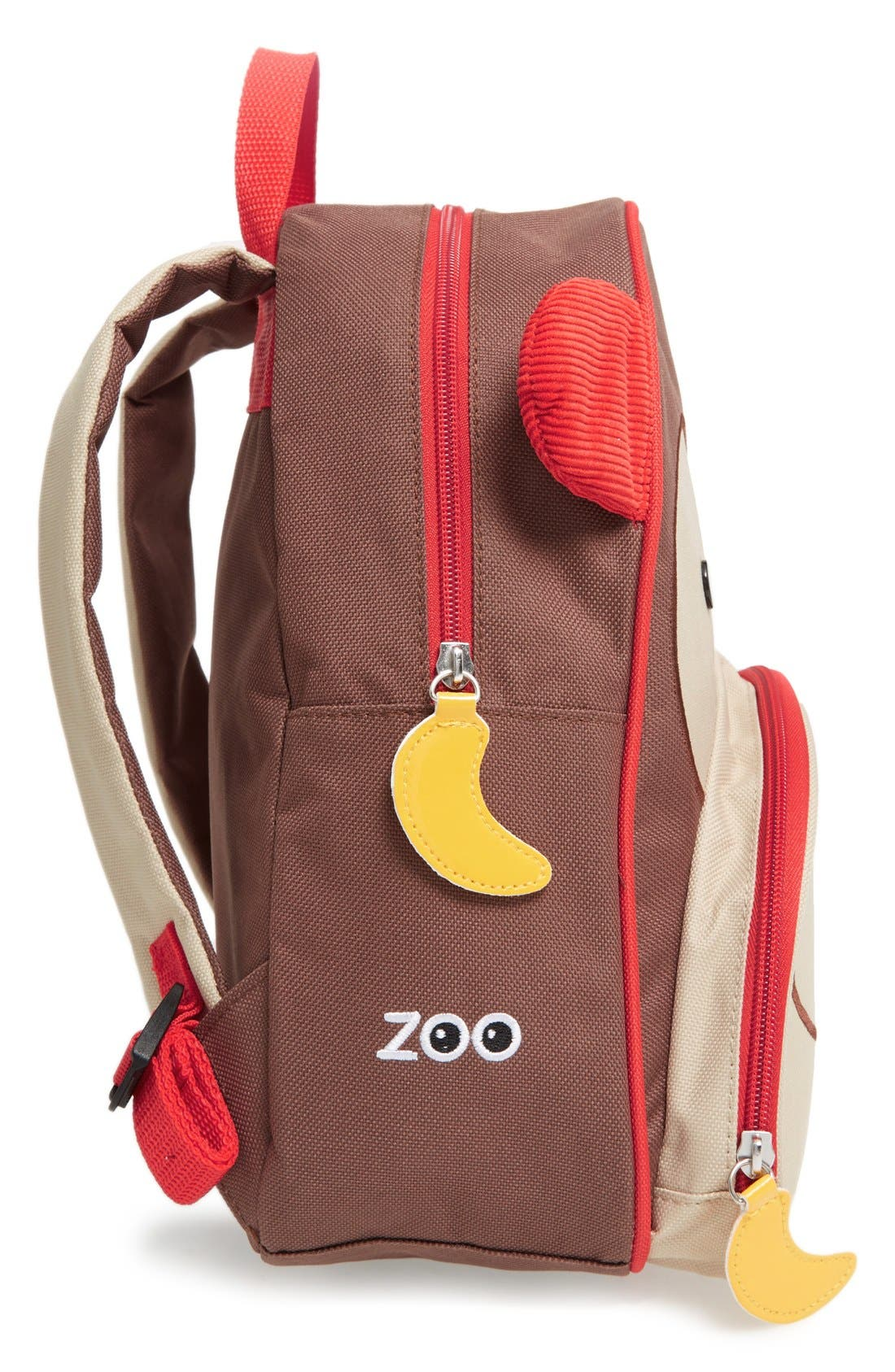 Zoo Pack Backpack,                             Alternate thumbnail 7, color,                             BROWN