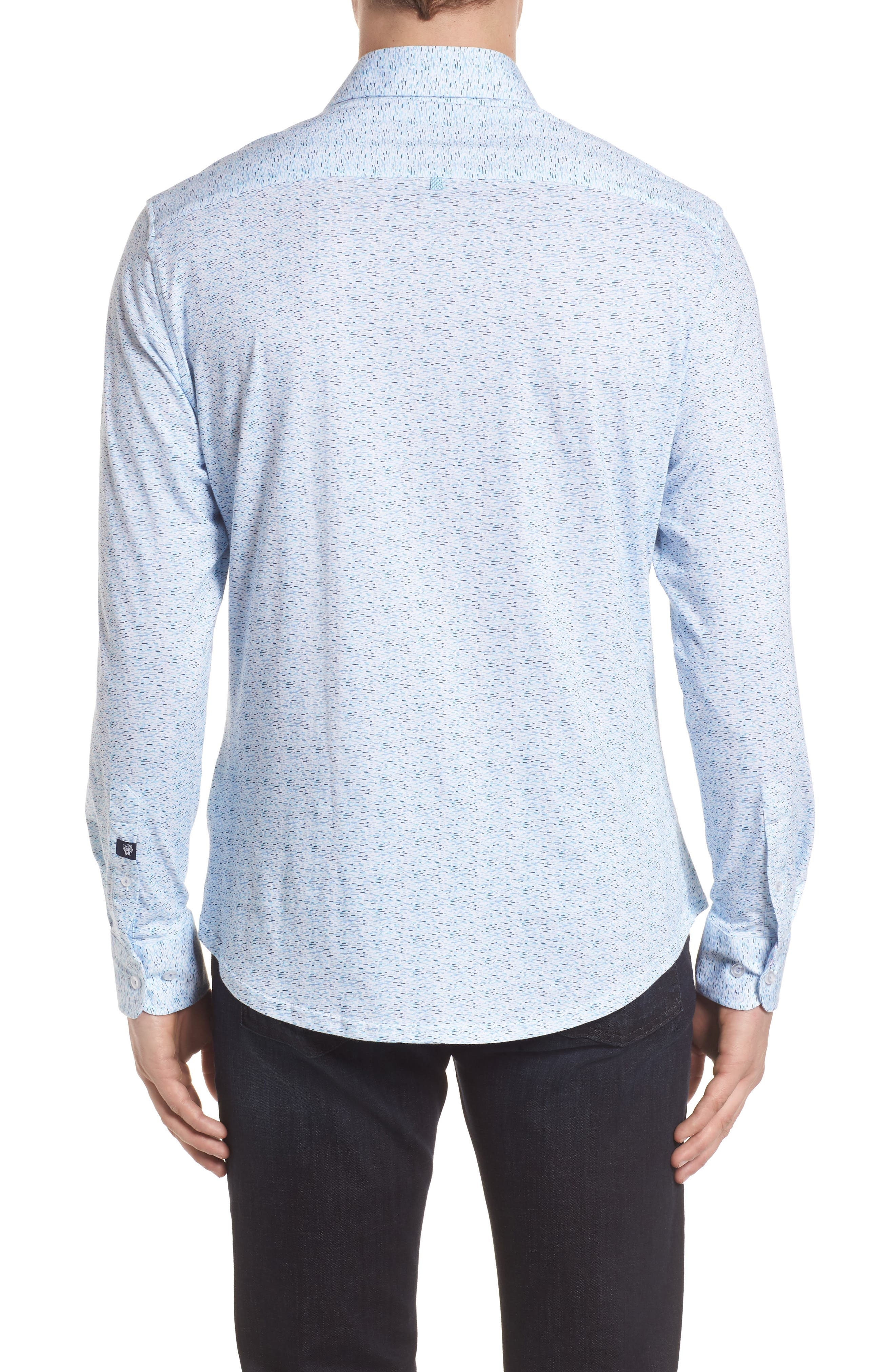 STONE ROSE,                             Contemporary Fit Print Sport Shirt,                             Alternate thumbnail 2, color,                             400