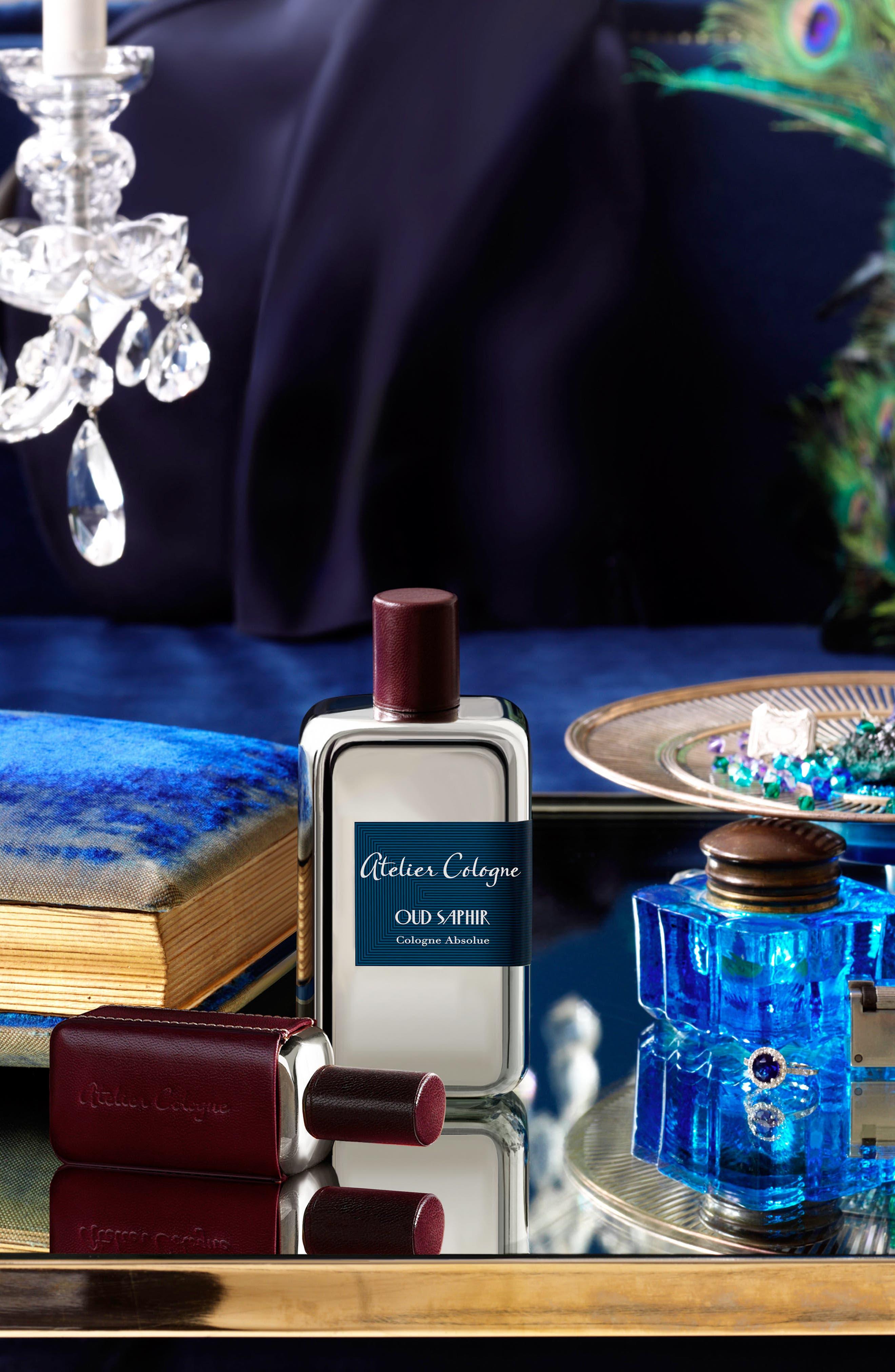 ATELIER COLOGNE,                             Oud Saphir Soap,                             Alternate thumbnail 4, color,                             000