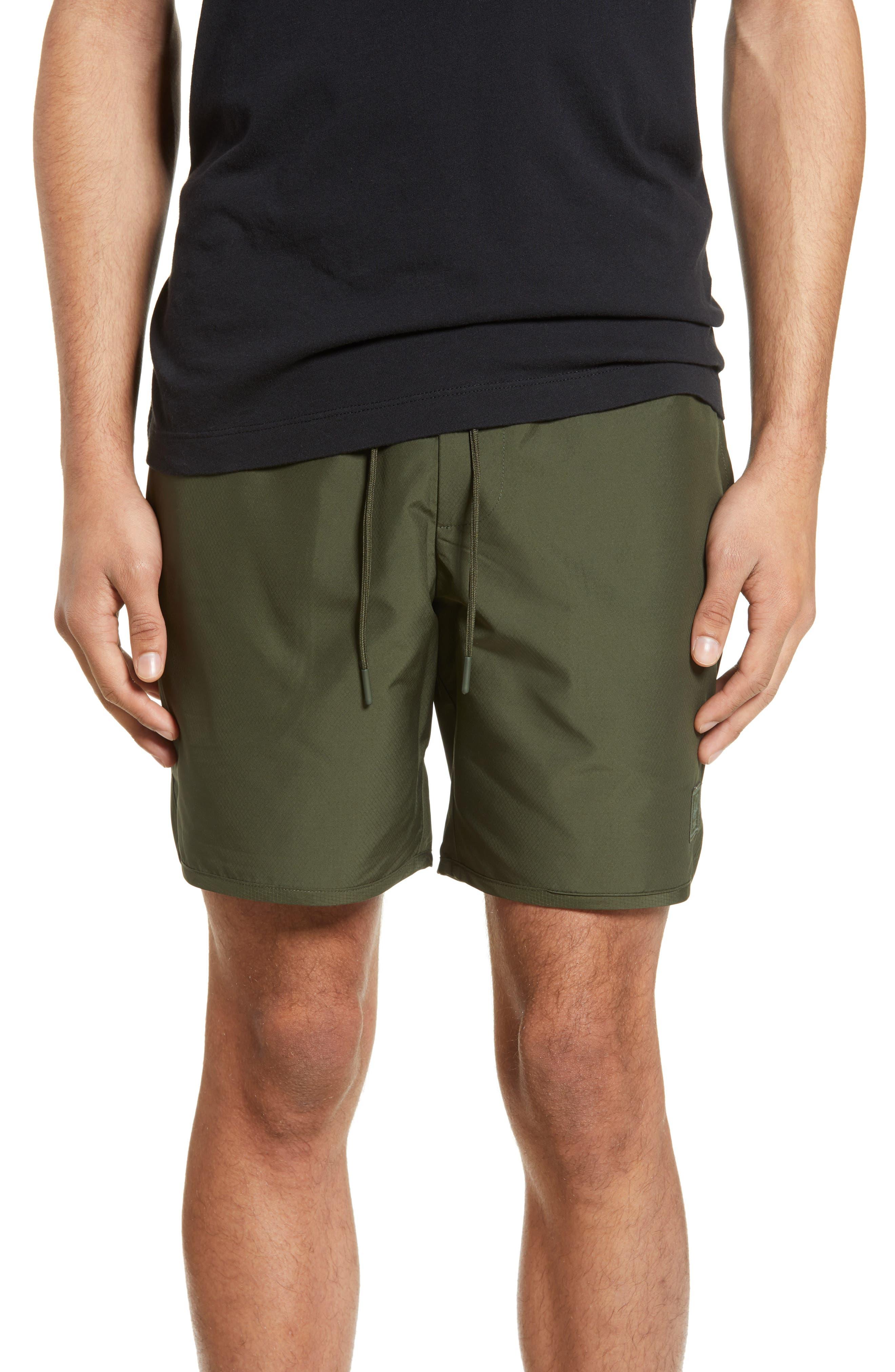 Herschel Supply Co. Voyage Alta Shorts, Green