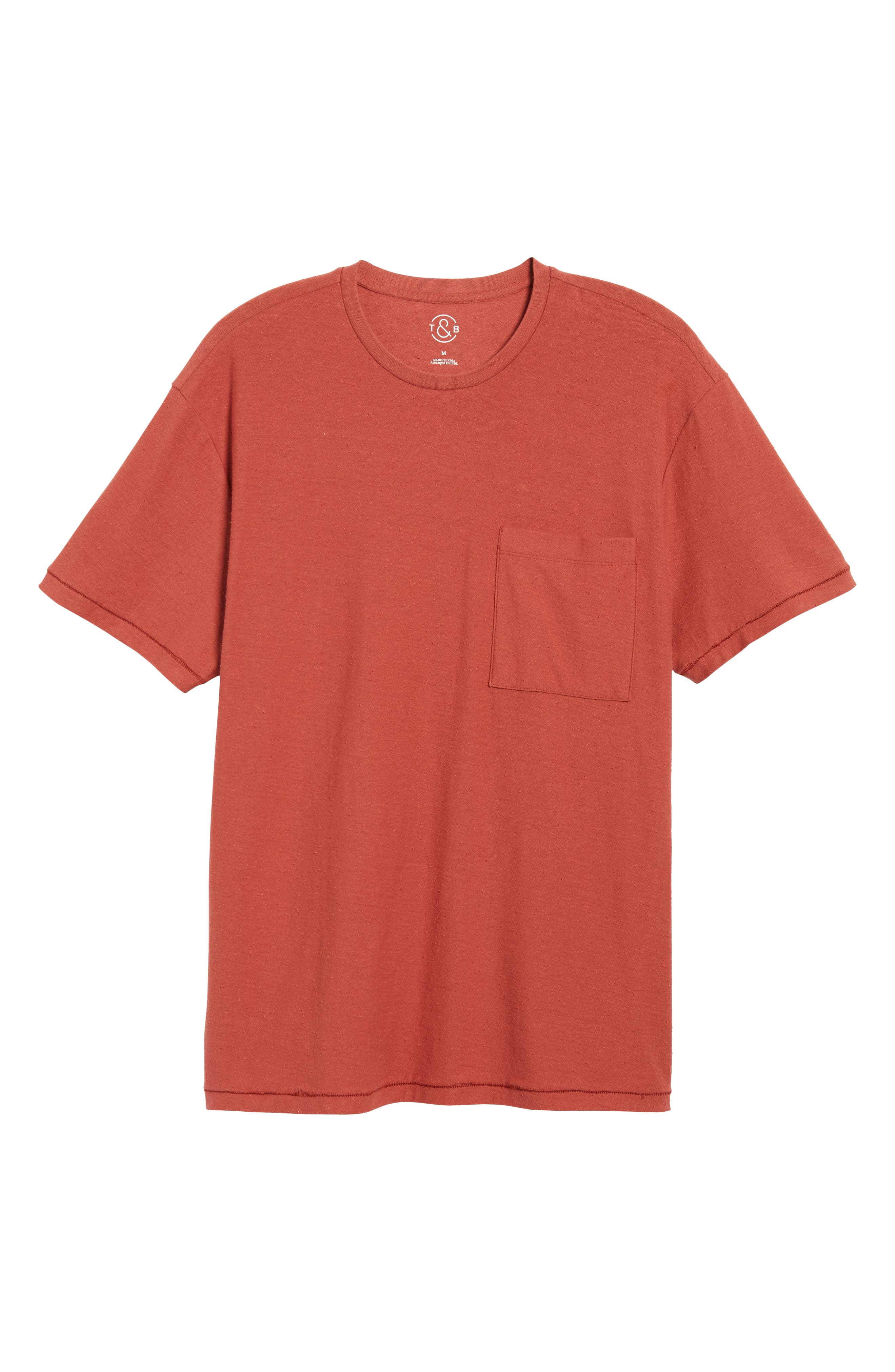 Nep Cotton Pocket T-Shirt,                             Alternate thumbnail 6, color,                             221