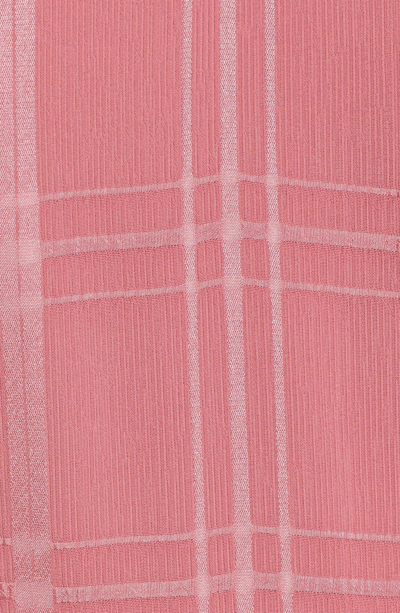 Hudson Ruffle Minidress,                             Alternate thumbnail 5, color,                             683