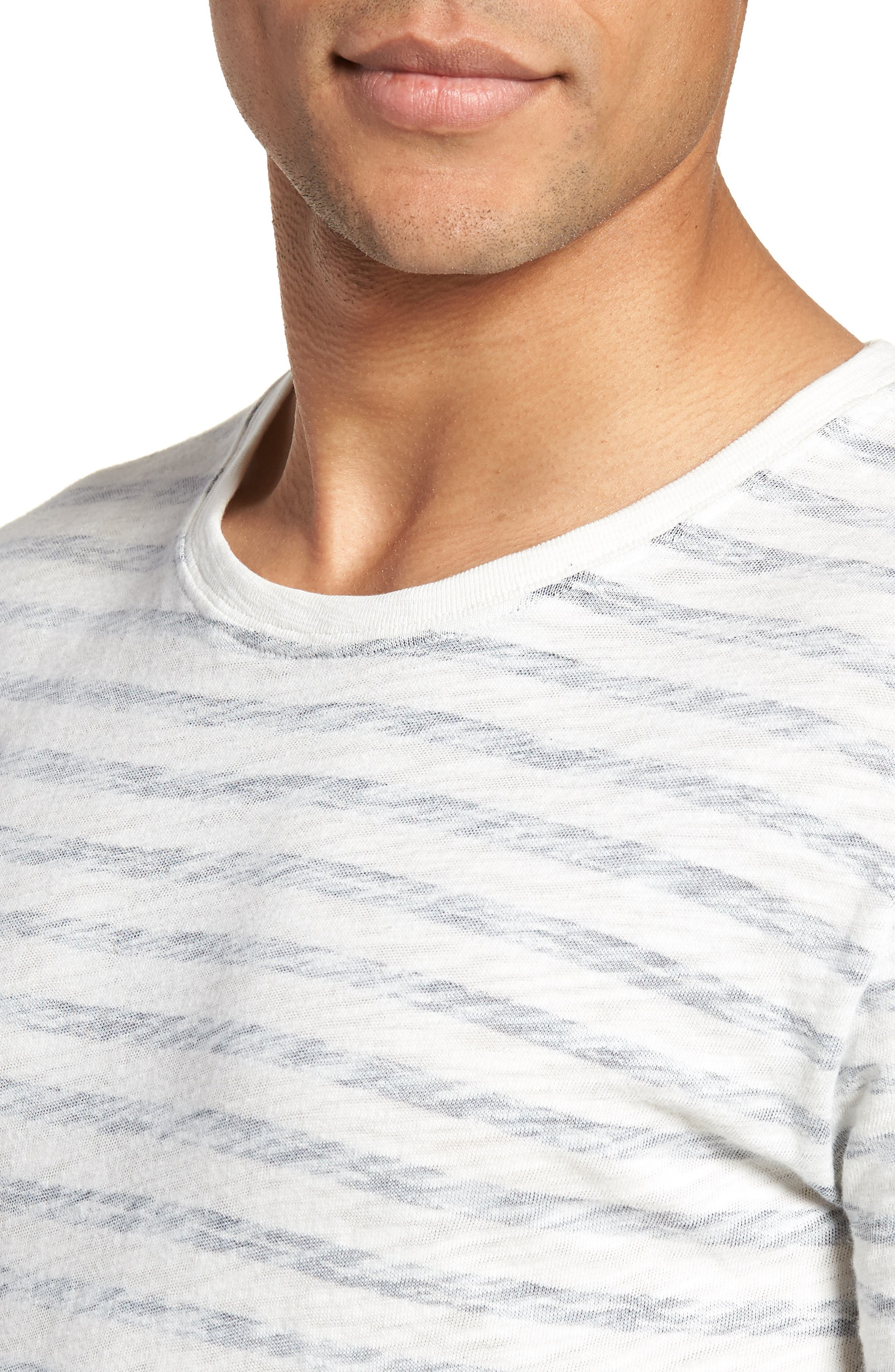 Stripe T-Shirt,                             Alternate thumbnail 4, color,                             115