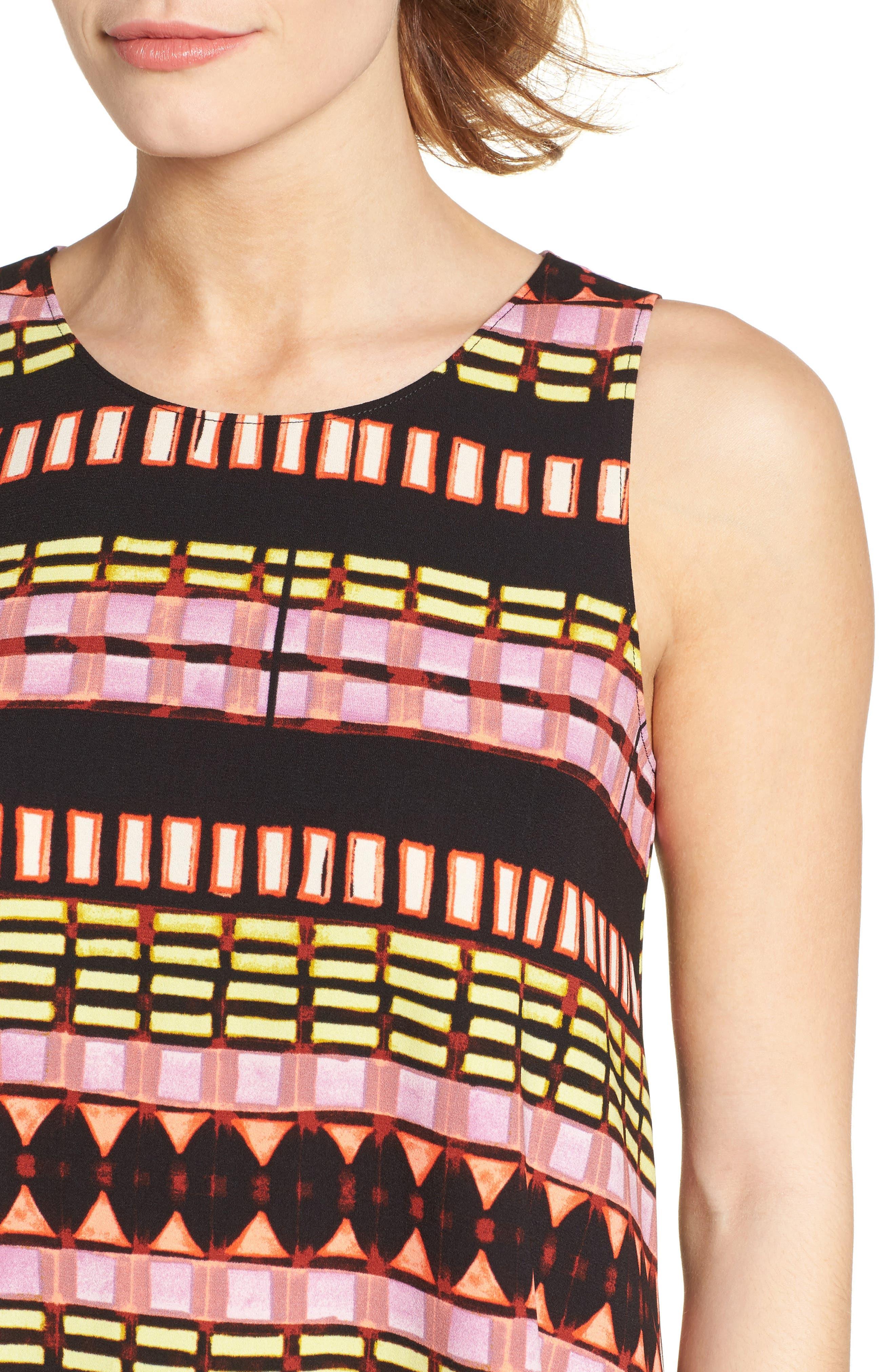 A-Line Dress,                             Alternate thumbnail 100, color,