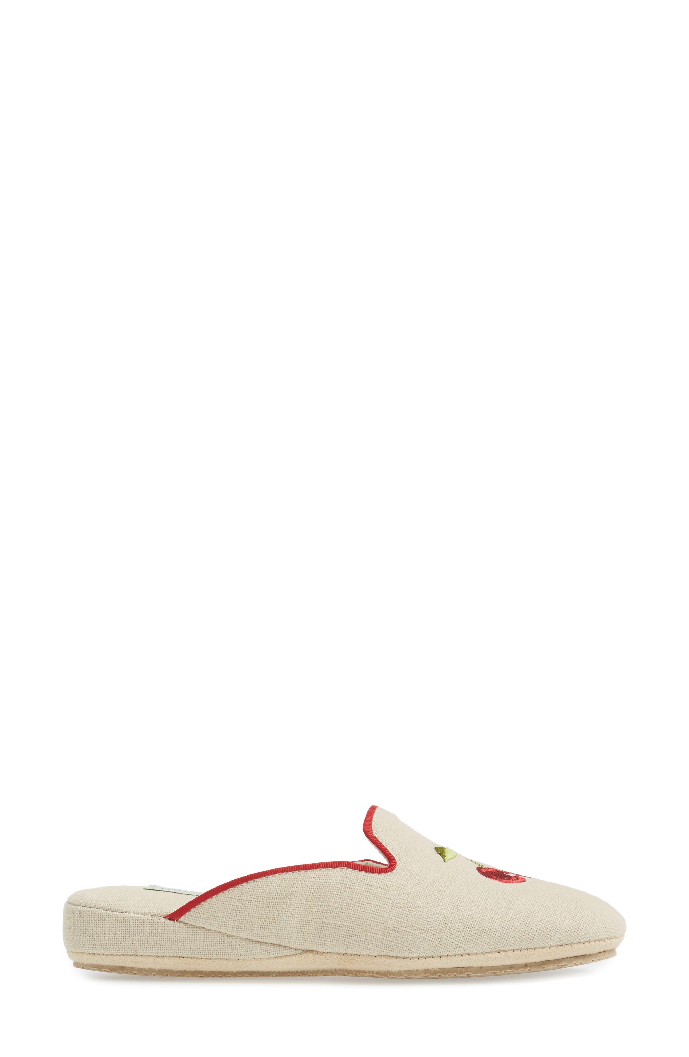 Cherries Slipper,                             Alternate thumbnail 3, color,                             252