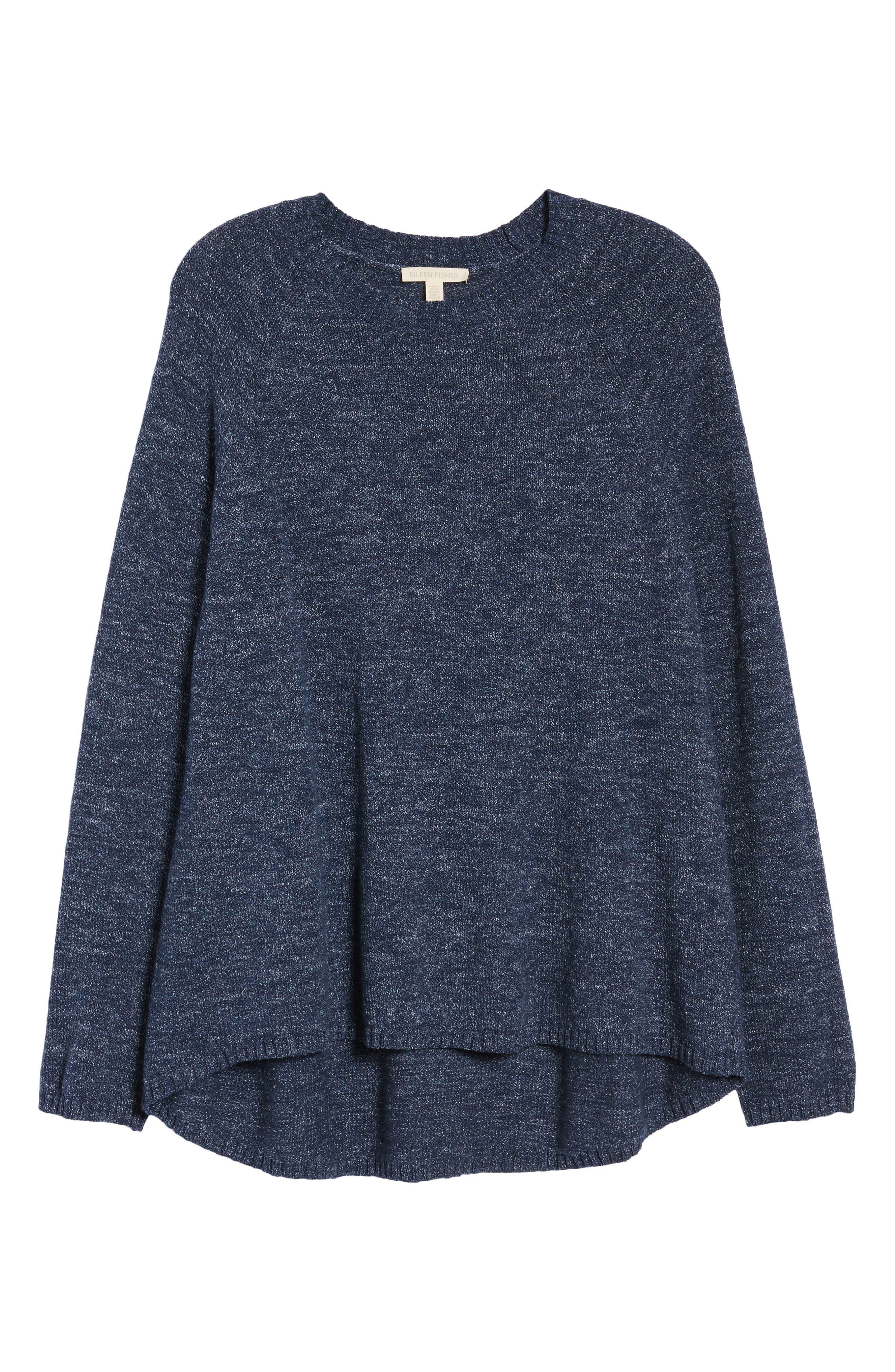 Organic Cotton Sweater,                             Alternate thumbnail 7, color,                             480