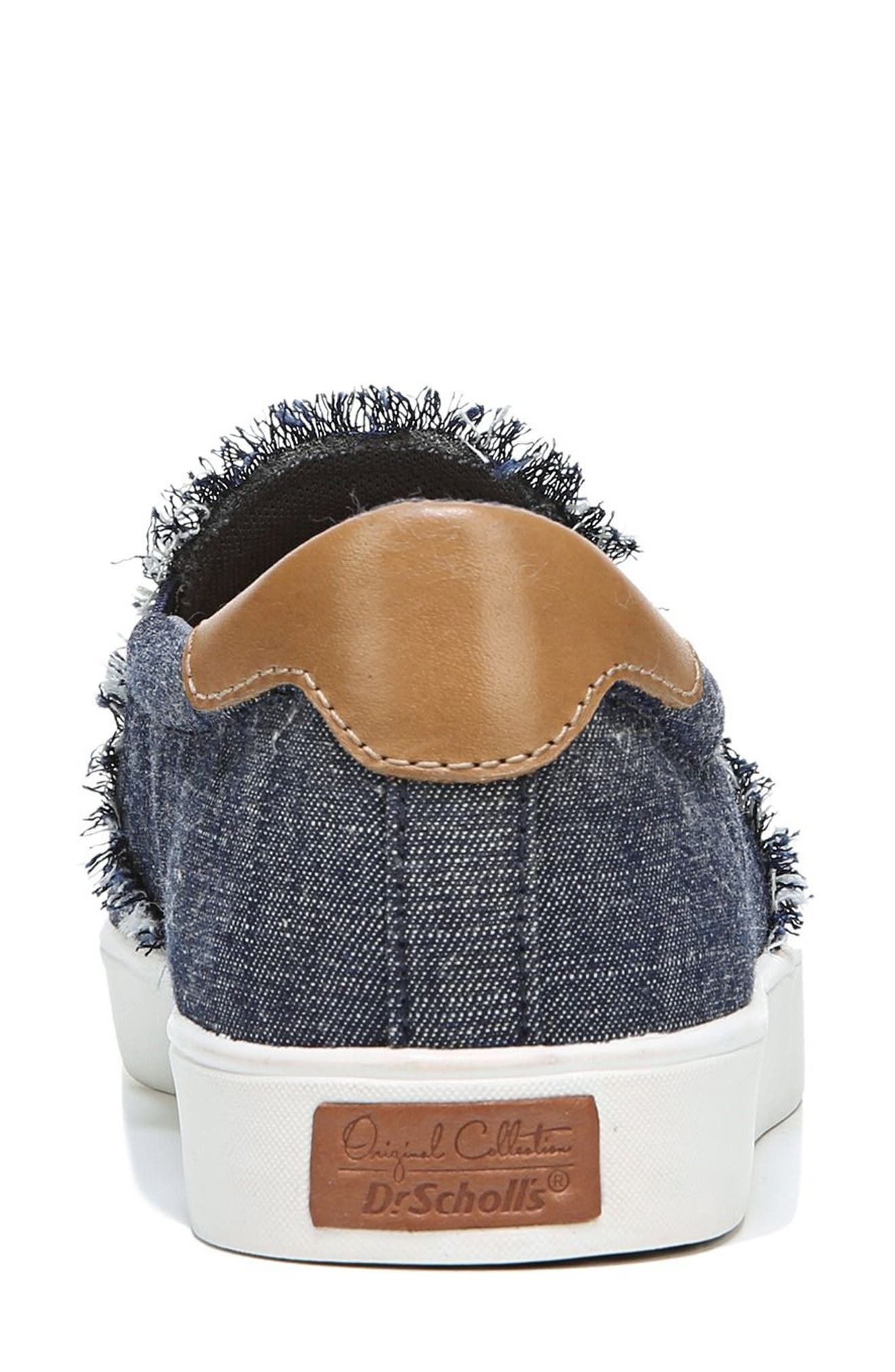 Scout Fray Slip-on Sneaker,                             Alternate thumbnail 8, color,                             400